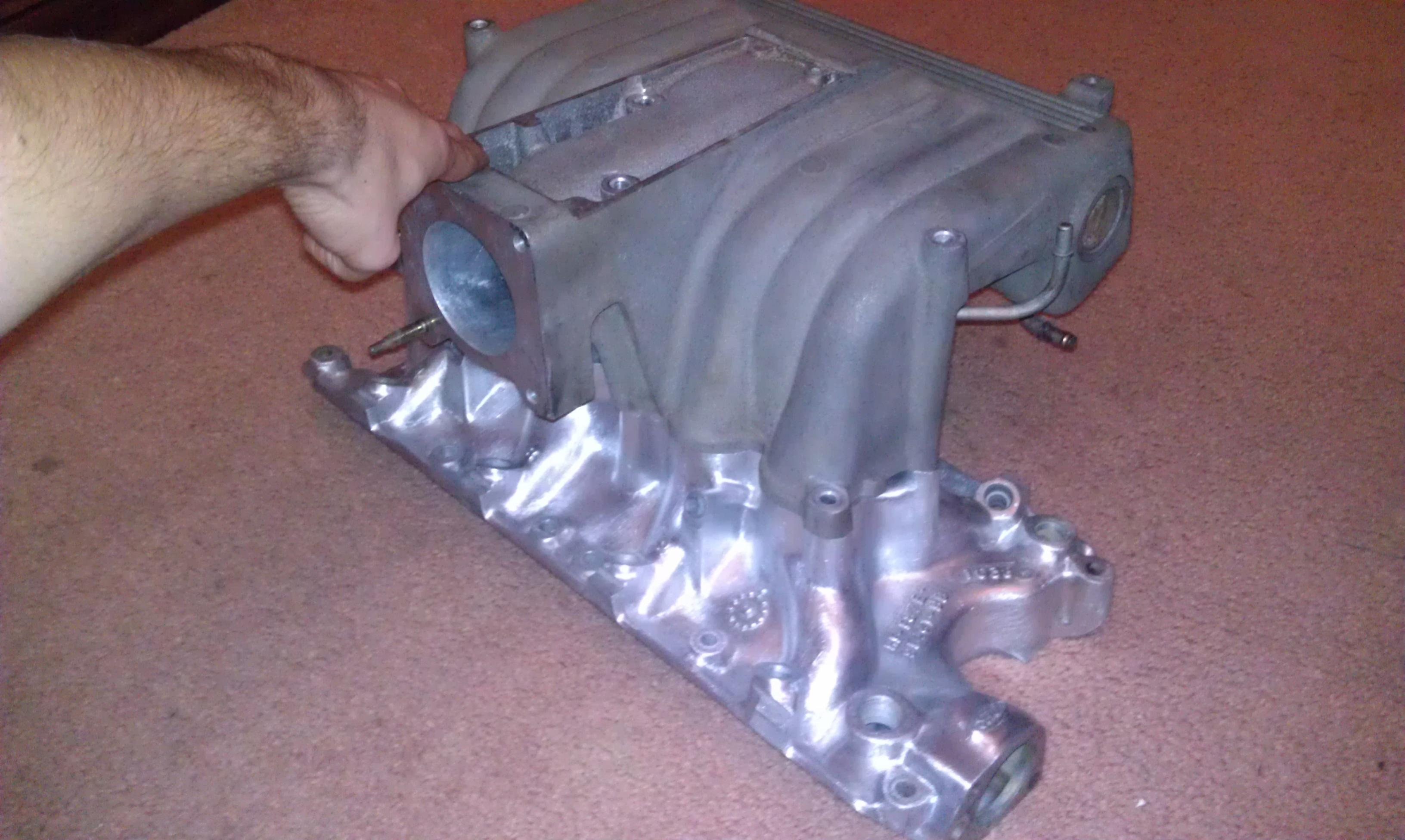 Ford Explorer Intake On A Mustang Ford Mustang Forum