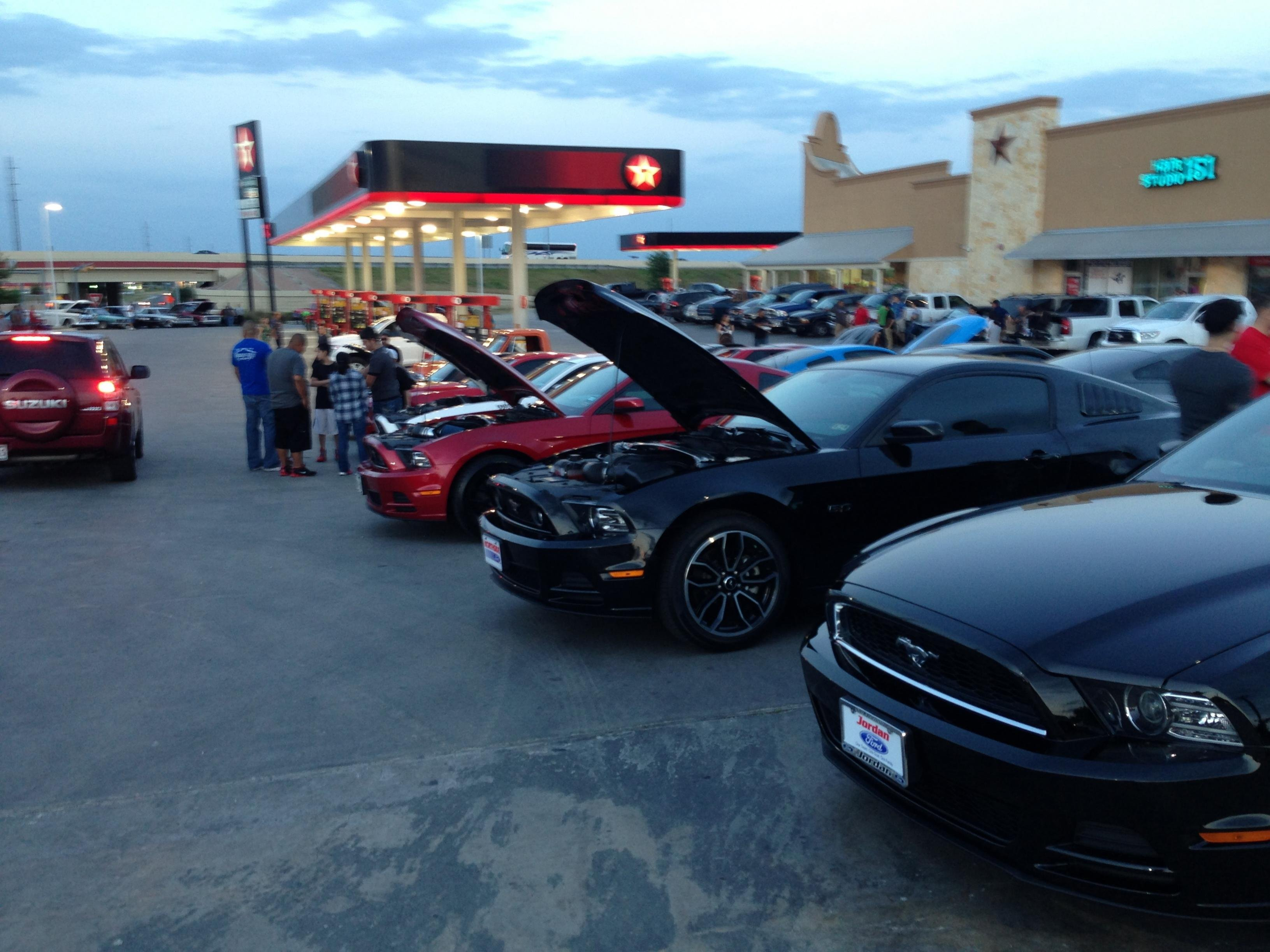 San Antonio Car Show Last Night Ford Mustang Forum - San antonio car show