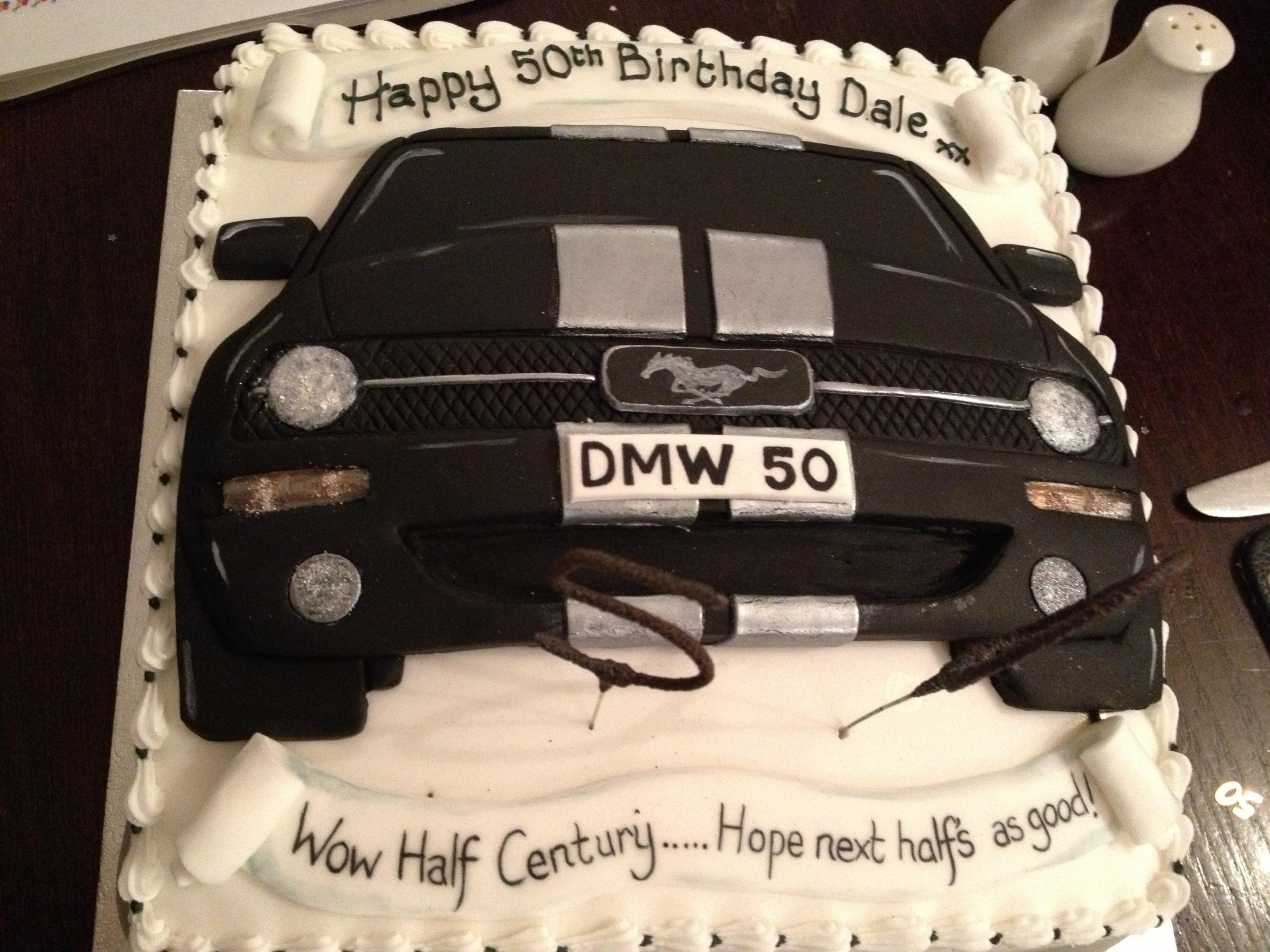 Birthday cake Ford Mustang Forum