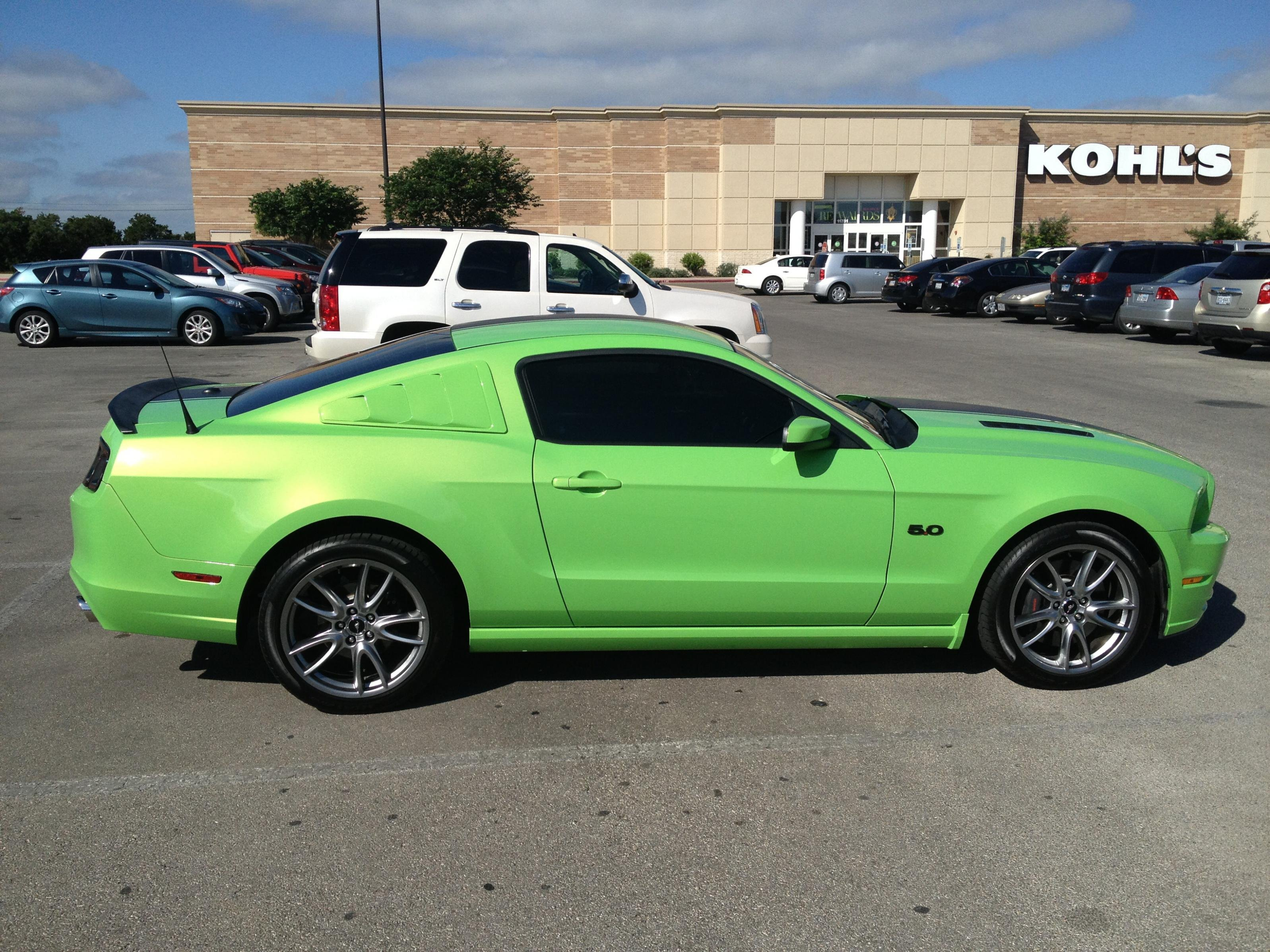 Gotta Have It Green Amateur Build Thread Ford Mustang Forum
