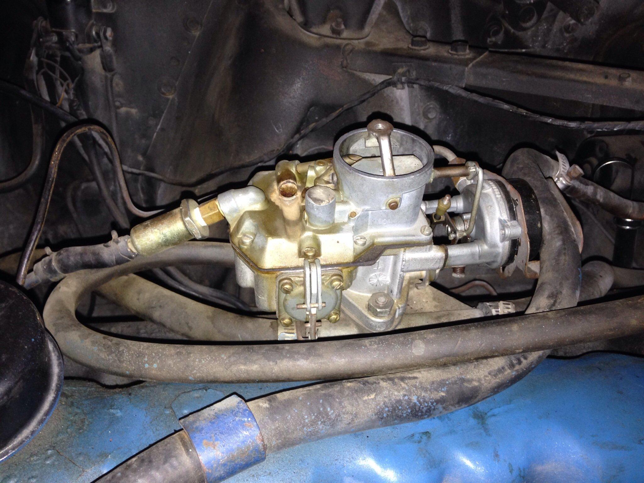 19641968 6 Cylinder    Carburetor    Guide  Ford Mustang Forum