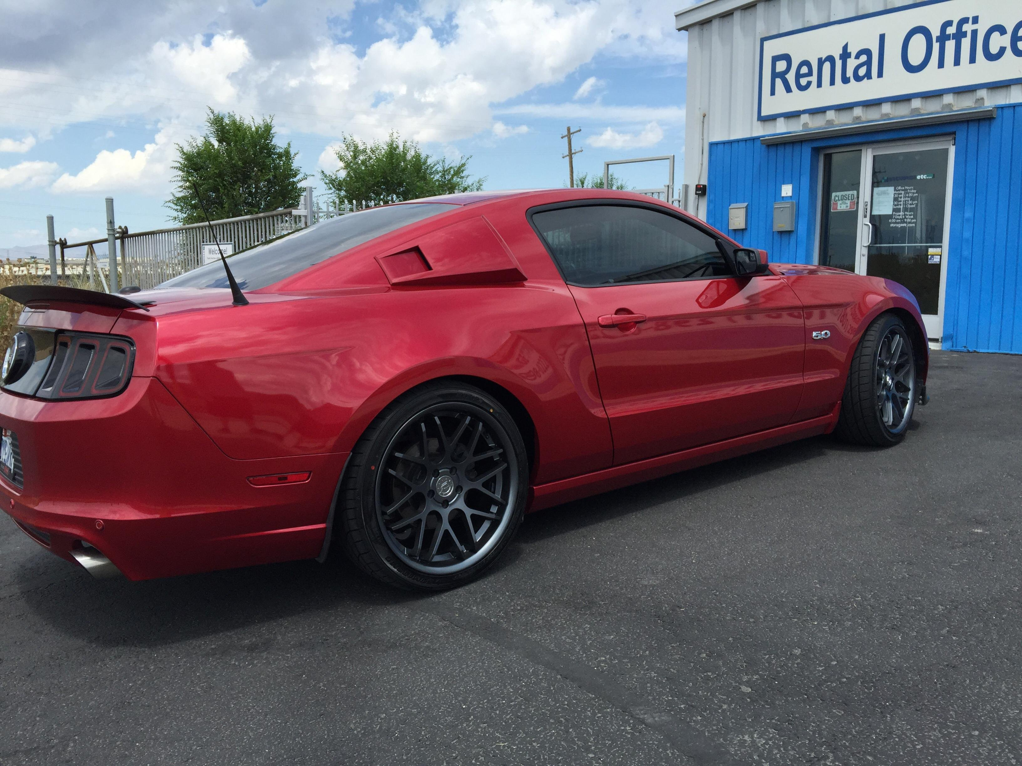 2015 Wheels On A 2013 Ford Mustang Forum