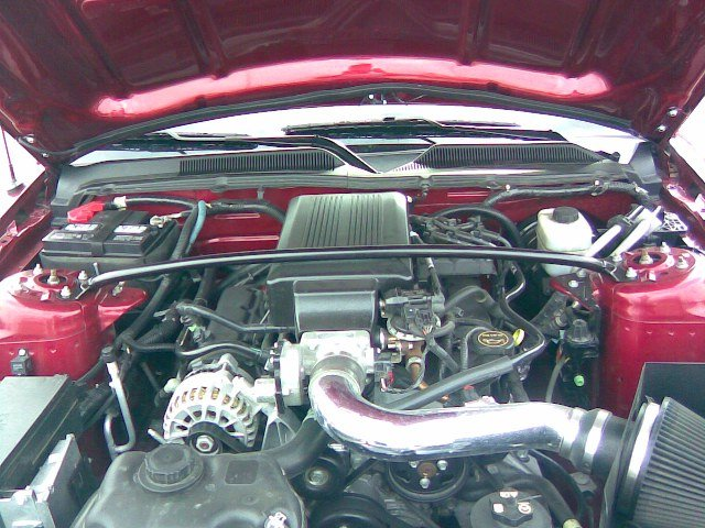 Strut Bar for V6 plenum cover - Ford Mustang Forum