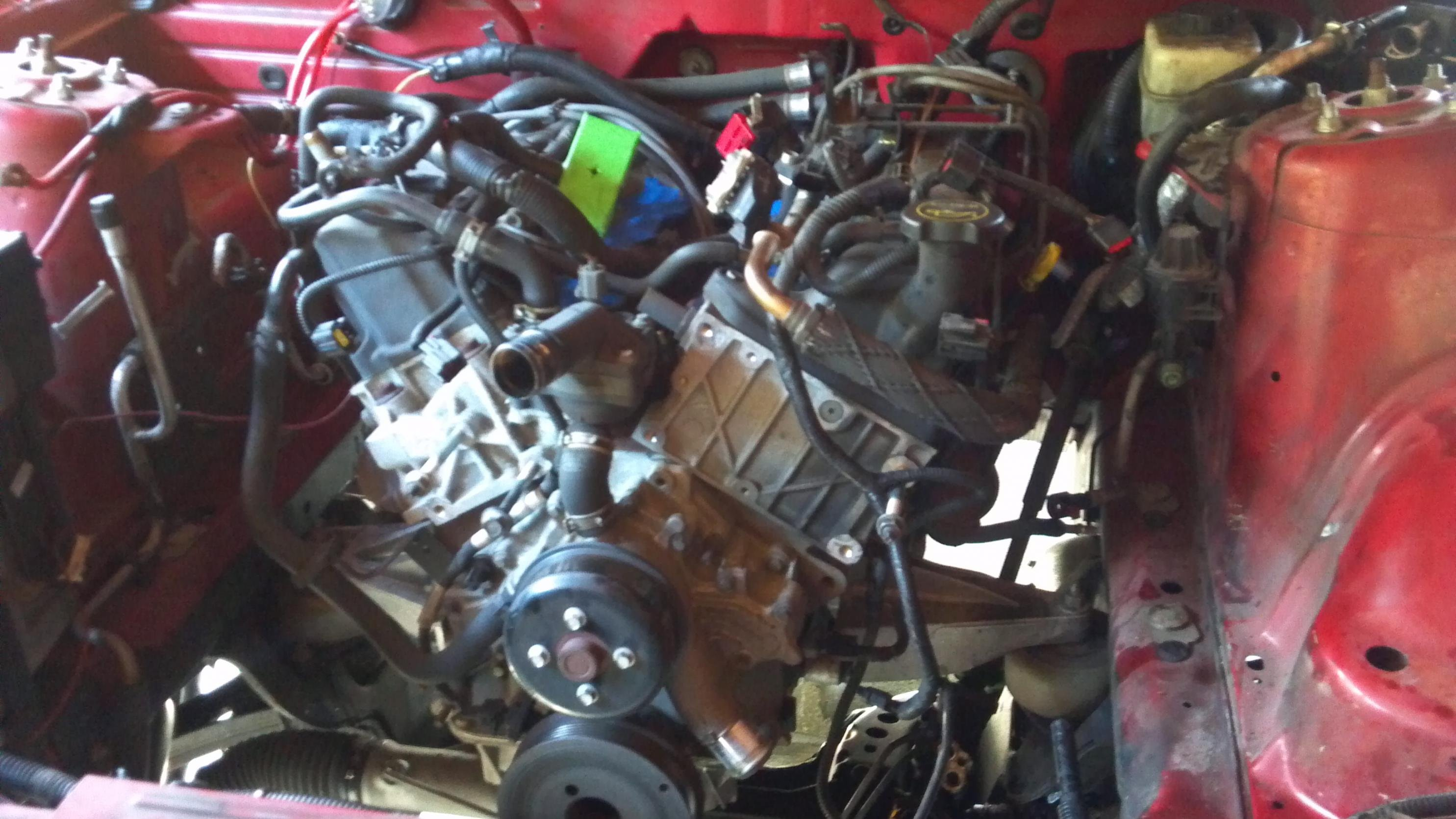 How To V6 To V8 Swap Ford Mustang Forum