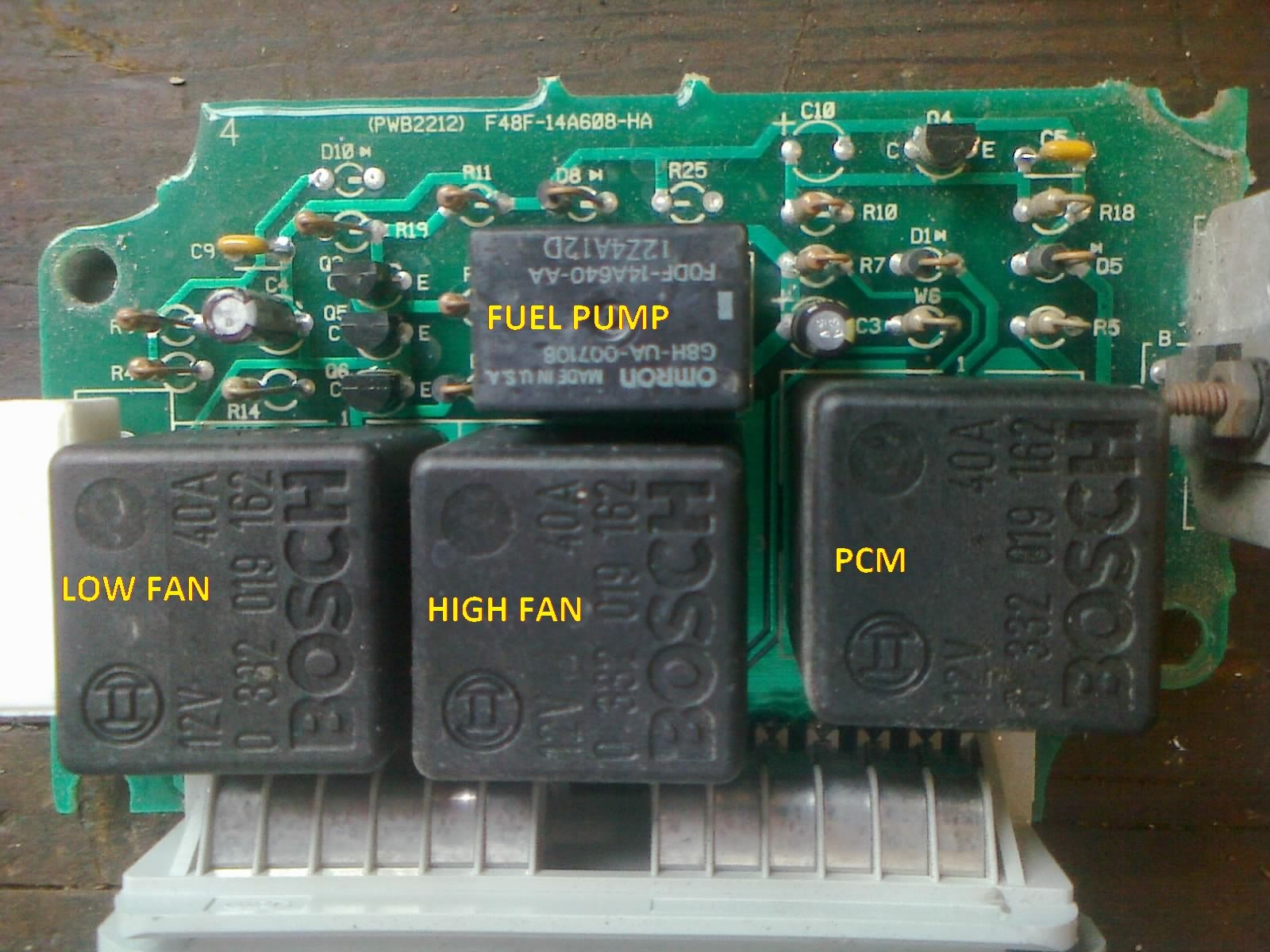D Mustang Gt Ccrm Repair Image Relays on 5 Post Relay Wiring Diagram