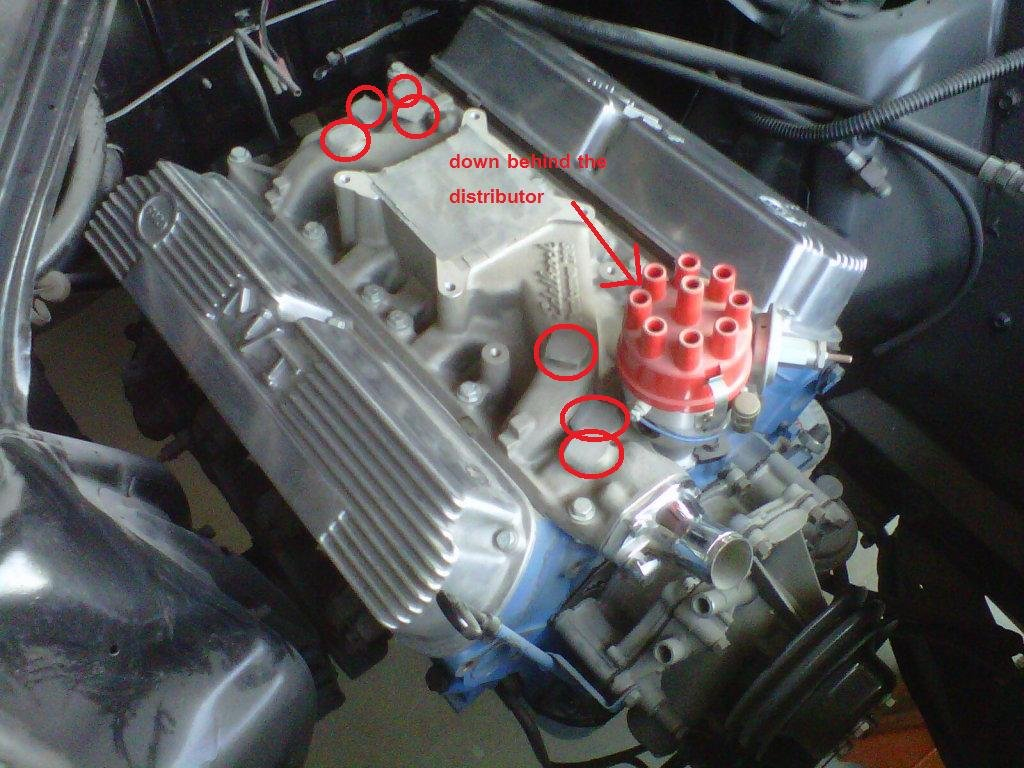Edelbrock Performer 289 Manifold Fitting Sizes Ford