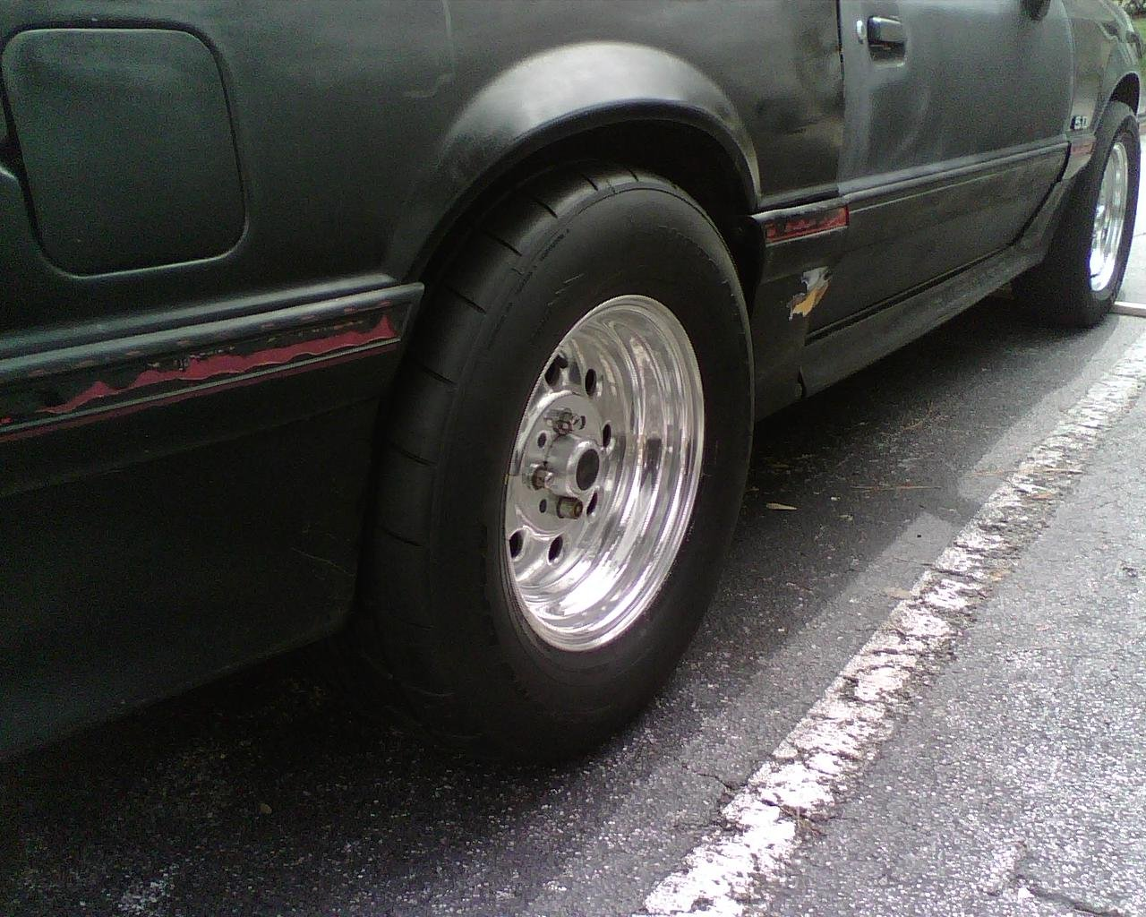 Tire Size For A Fox Body Ford Mustang Forum