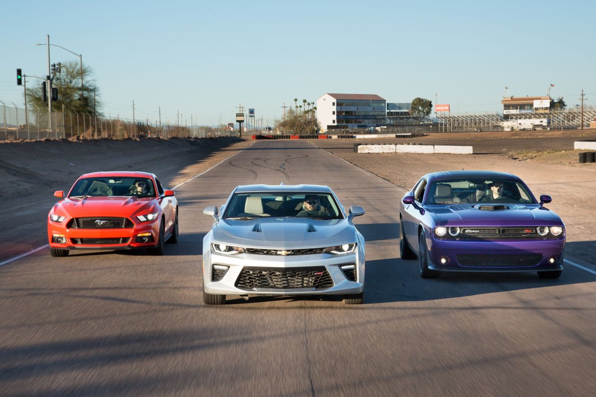POLL: Which is the Best Muscle Car Available in 2016? - AllFordMustangs