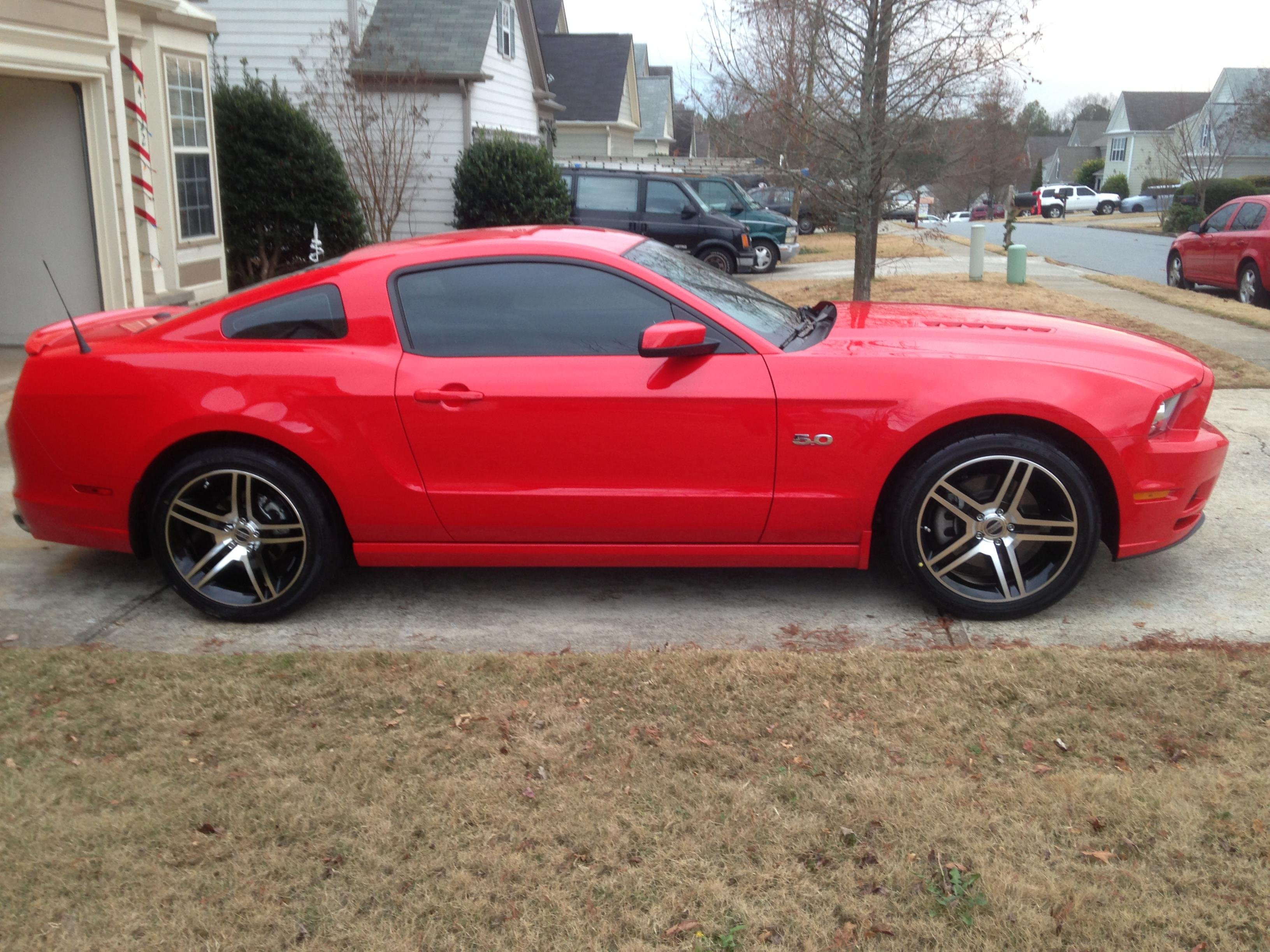 window tint percentage ford mustang forum. Black Bedroom Furniture Sets. Home Design Ideas