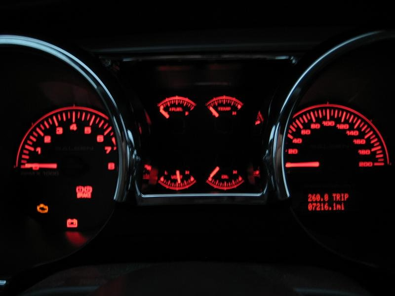 Woohoo Saleen 200mph Gauge Cluster Red Lcd Ftw Ford HD Wallpapers Download free images and photos [musssic.tk]