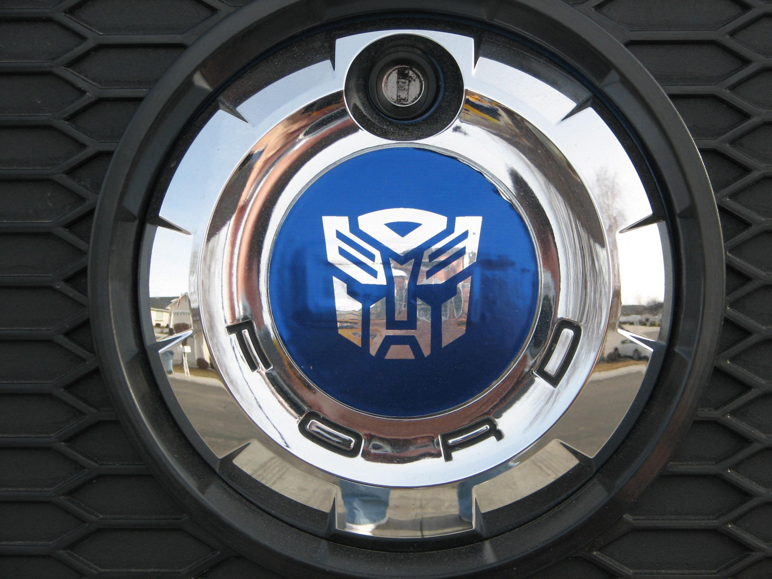 Having Some Trouble Finding Autobot Transformer Logo Ford