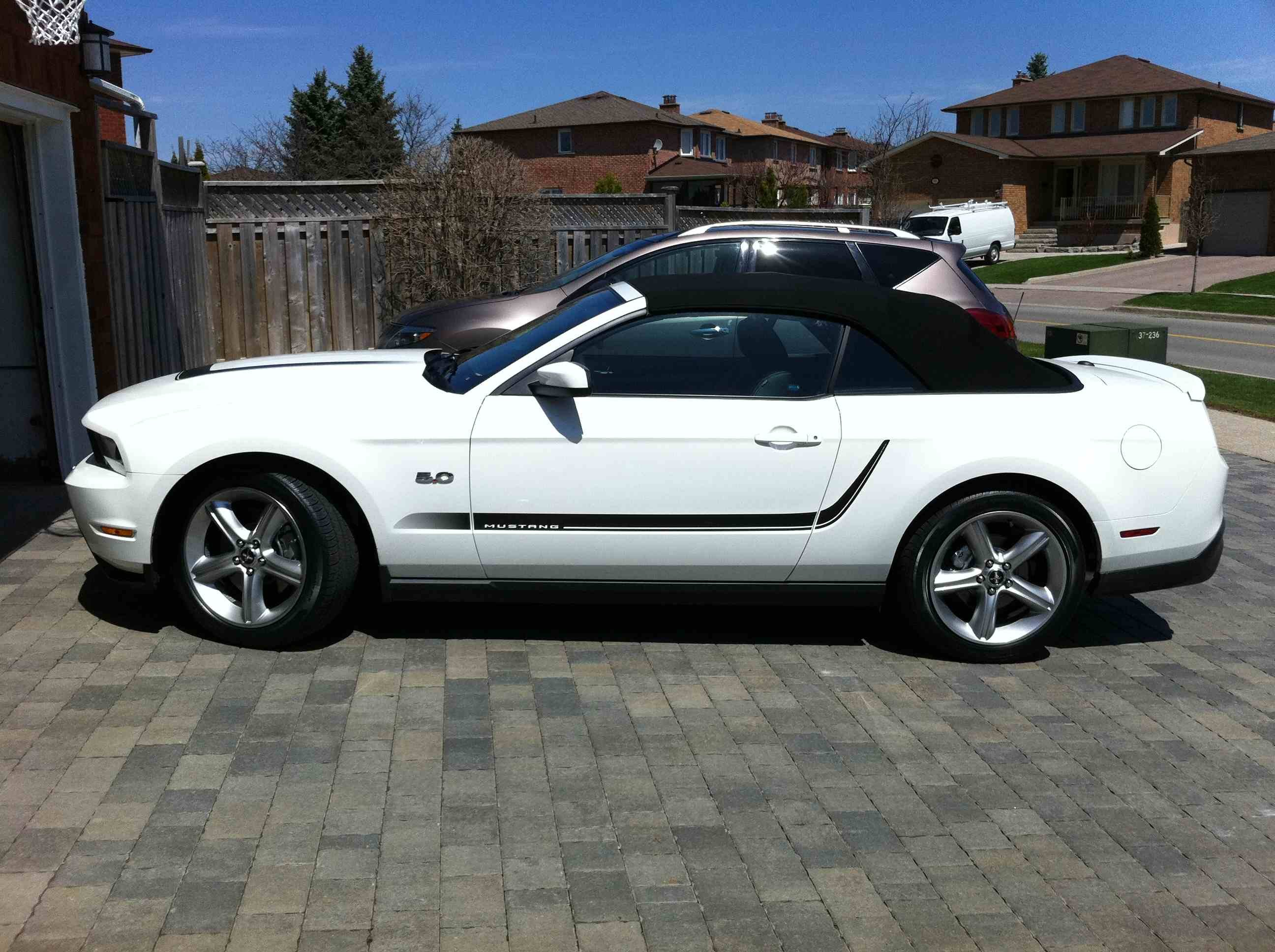 2012 mustang gt performance white w stripes ford mustang forum - Mustang 2012 White