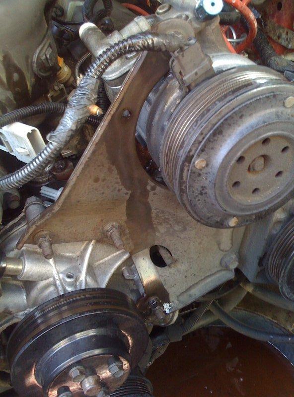 help with ac and power steering pump bracket ford mustang forum rh allfordmustangs com 69 Mustang Wiring Diagram 93 Mustang Wiring Diagram