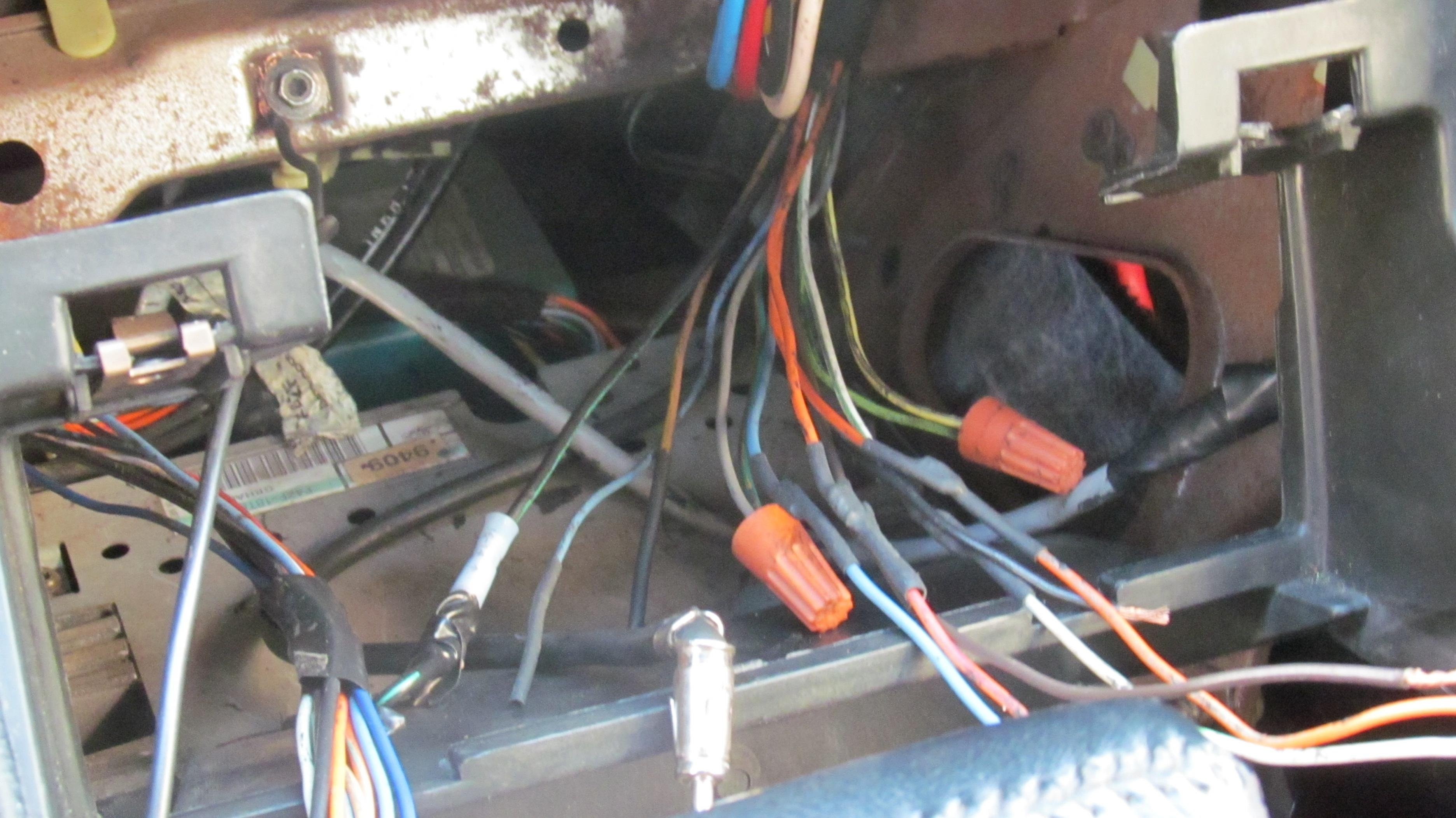 Dash Wiring On 1994 Ford Mustang Problem Can U0026 39 T Use Keyless Locks