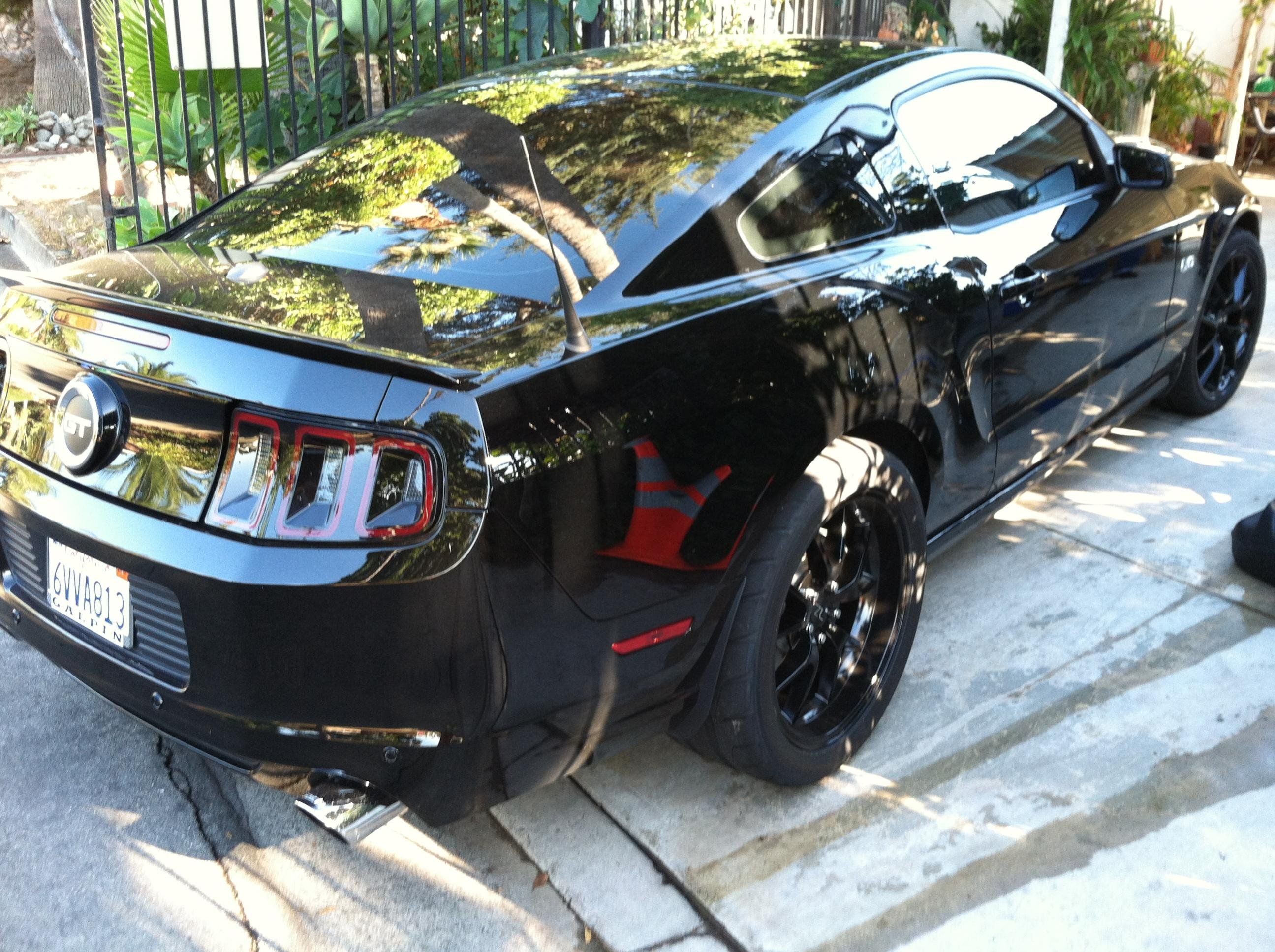 New Fr500 20 Inch Wheels Installed On 2013 Mustang Gt