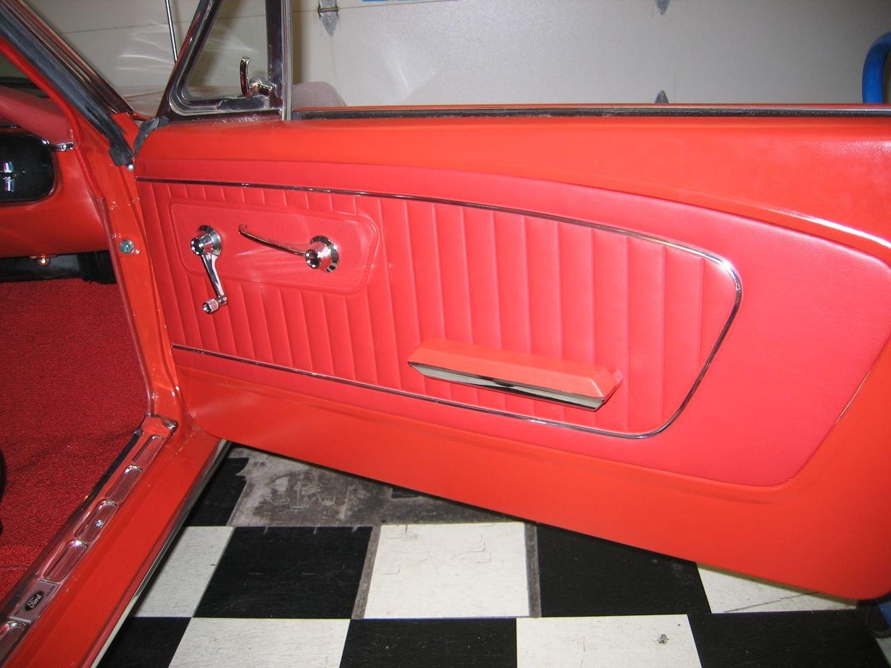 mustang convertible windows for door panels panel blk black opr power