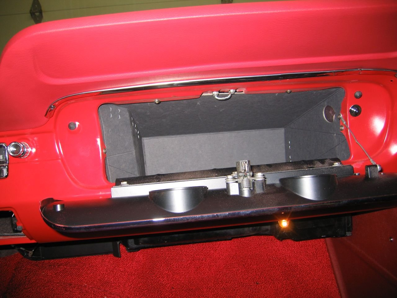 66 Glove Box Bracket Vintage Mustang Forums