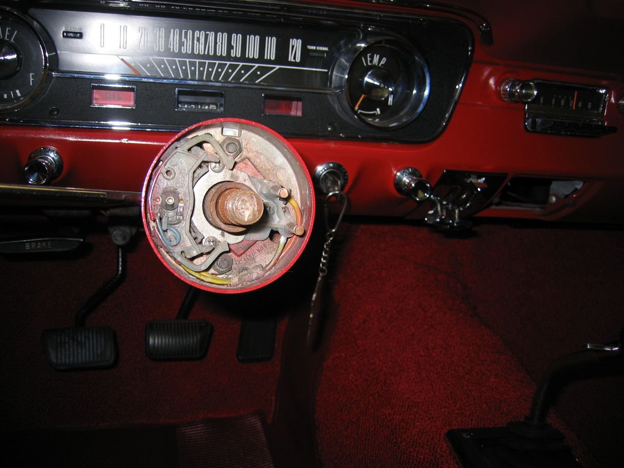 1965 Mustang Turn Signal Won U0026 39 T Cancel