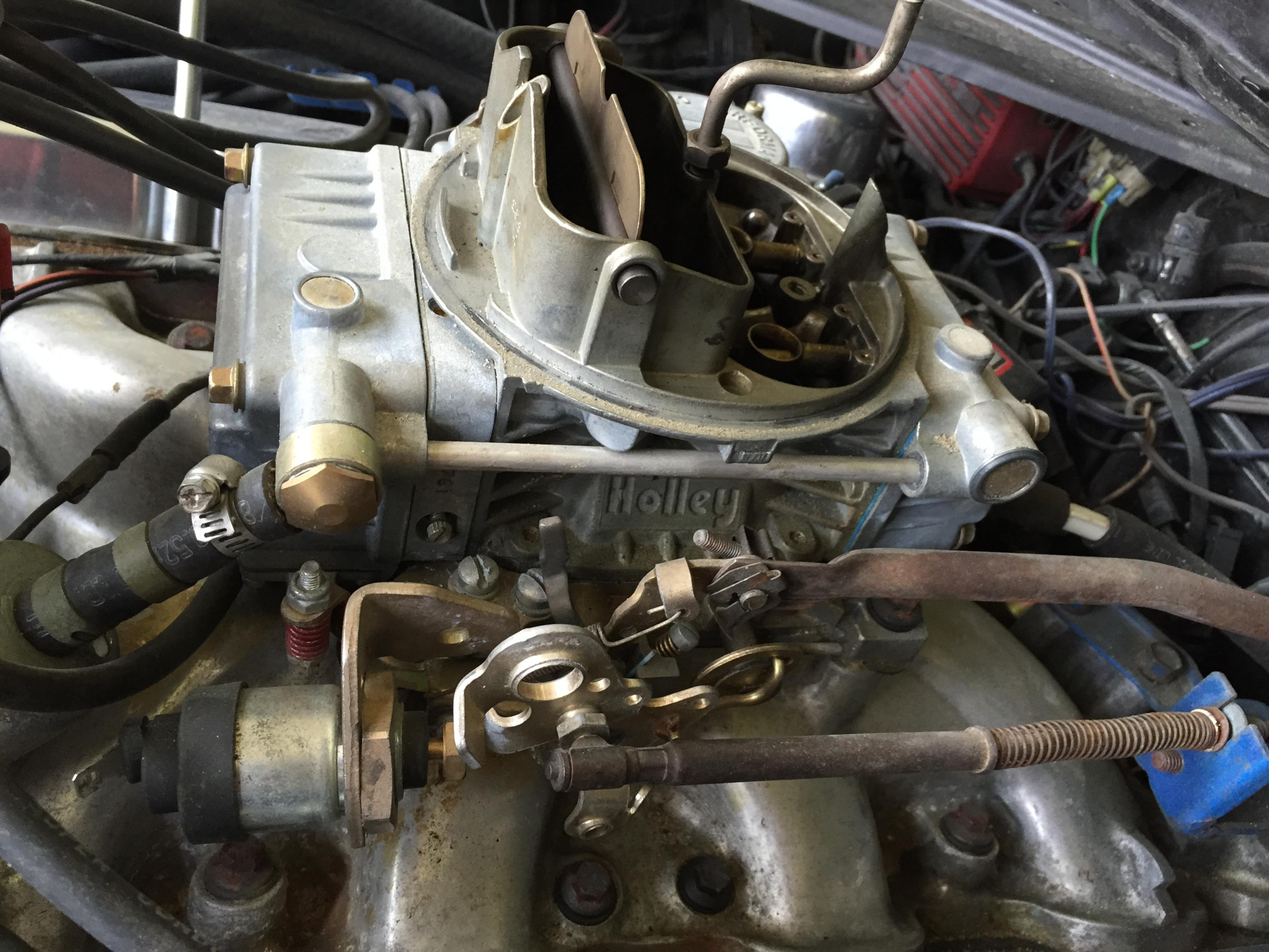 Replacing Carb On 351 Cleveland Ford Mustang Forum