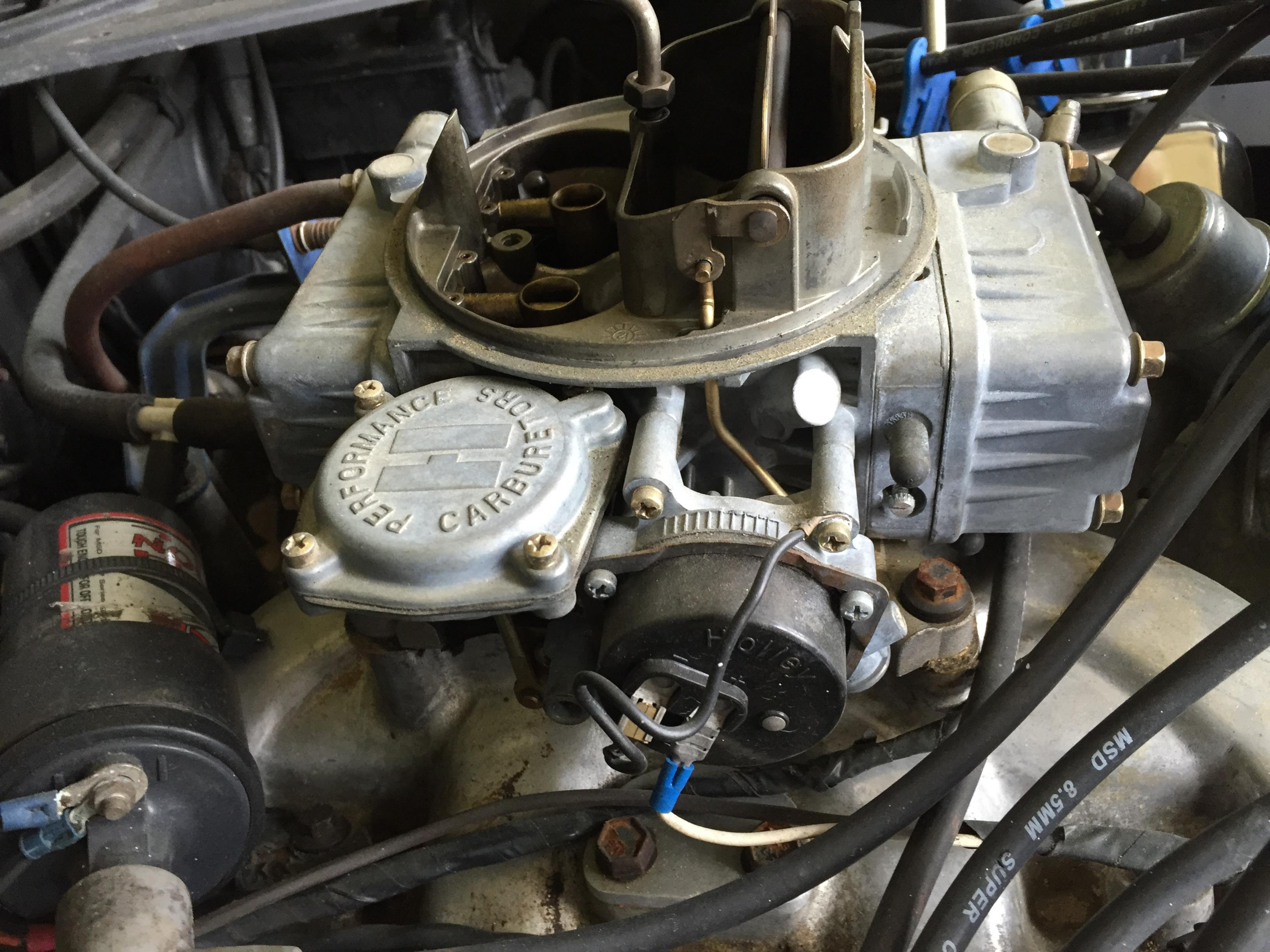 Ford Mustang Parts >> Replacing Carb on 351 Cleveland - Ford Mustang Forum