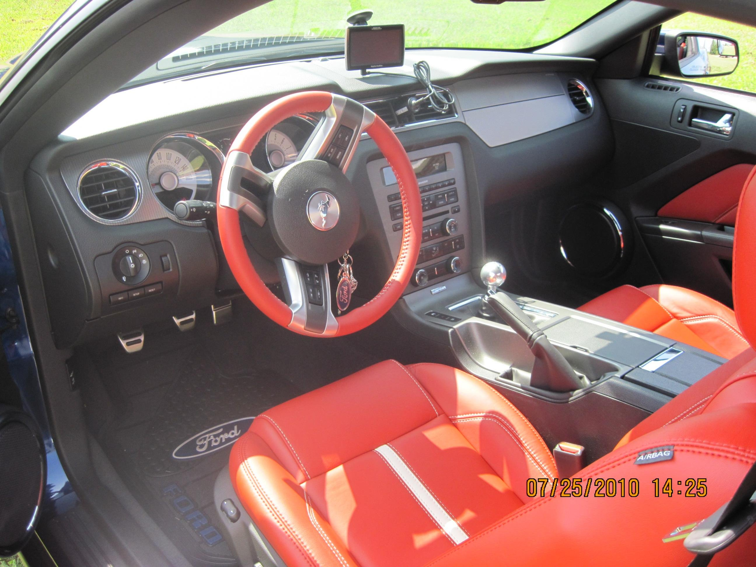 Anyone Have Kona Blue W Brick Red Interior Pictures