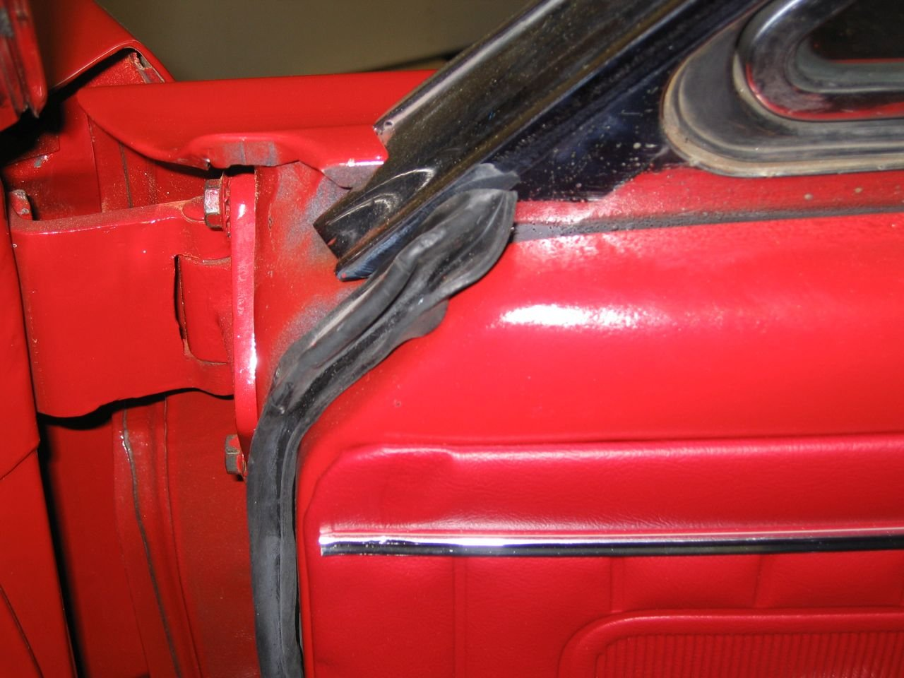 1965 Mustang Door Weatherstrip Installation Ford Mustang