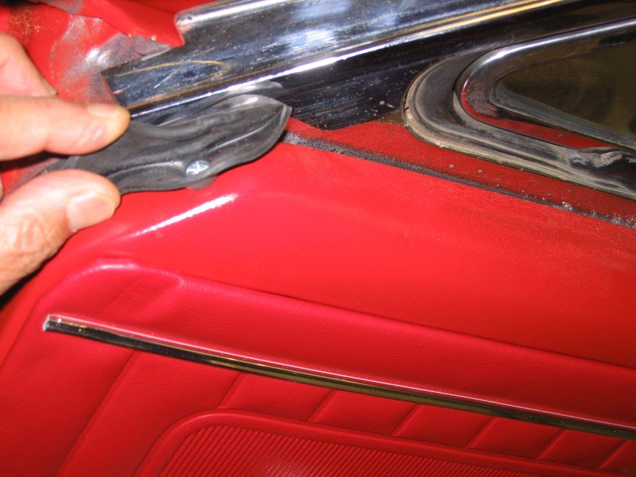 1965 Mustang Door Weatherstrip Installation Ford Mustang