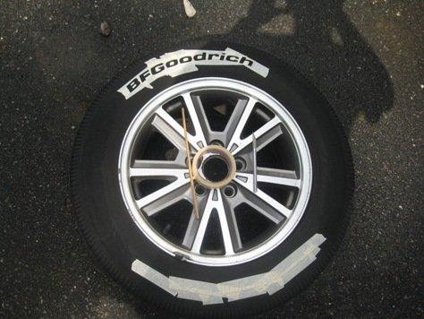 D Custom White Letter Tires Img
