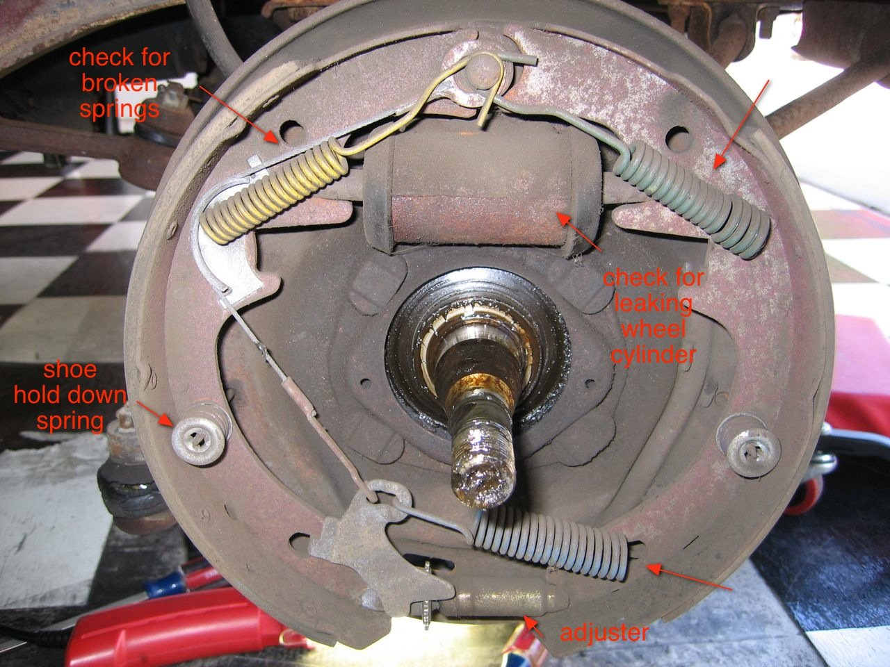 How Do You Bleed Brakes >> 1966 Mustang-Step hard on brakes = pull to left - Ford Mustang Forum