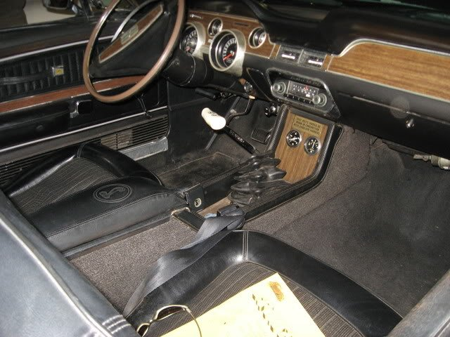What To Do With Old Car Seats >> I need 67-68 shelby console specs - Ford Mustang Forum