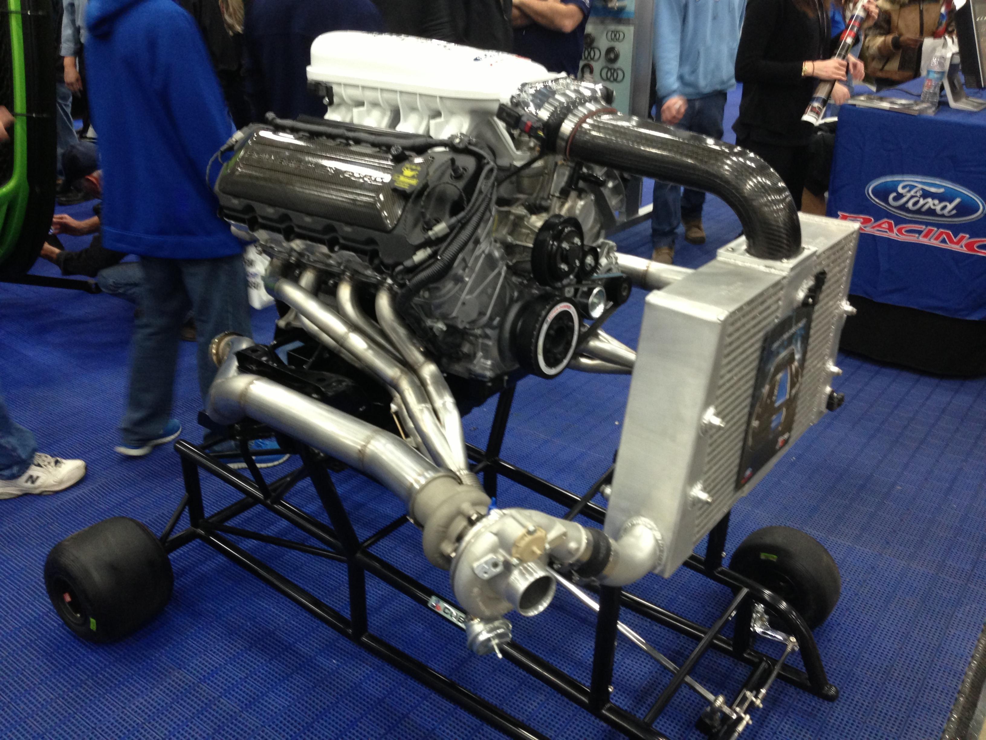 Twin Turbo Cobra Jet Engine pics - Ford Mustang Forum