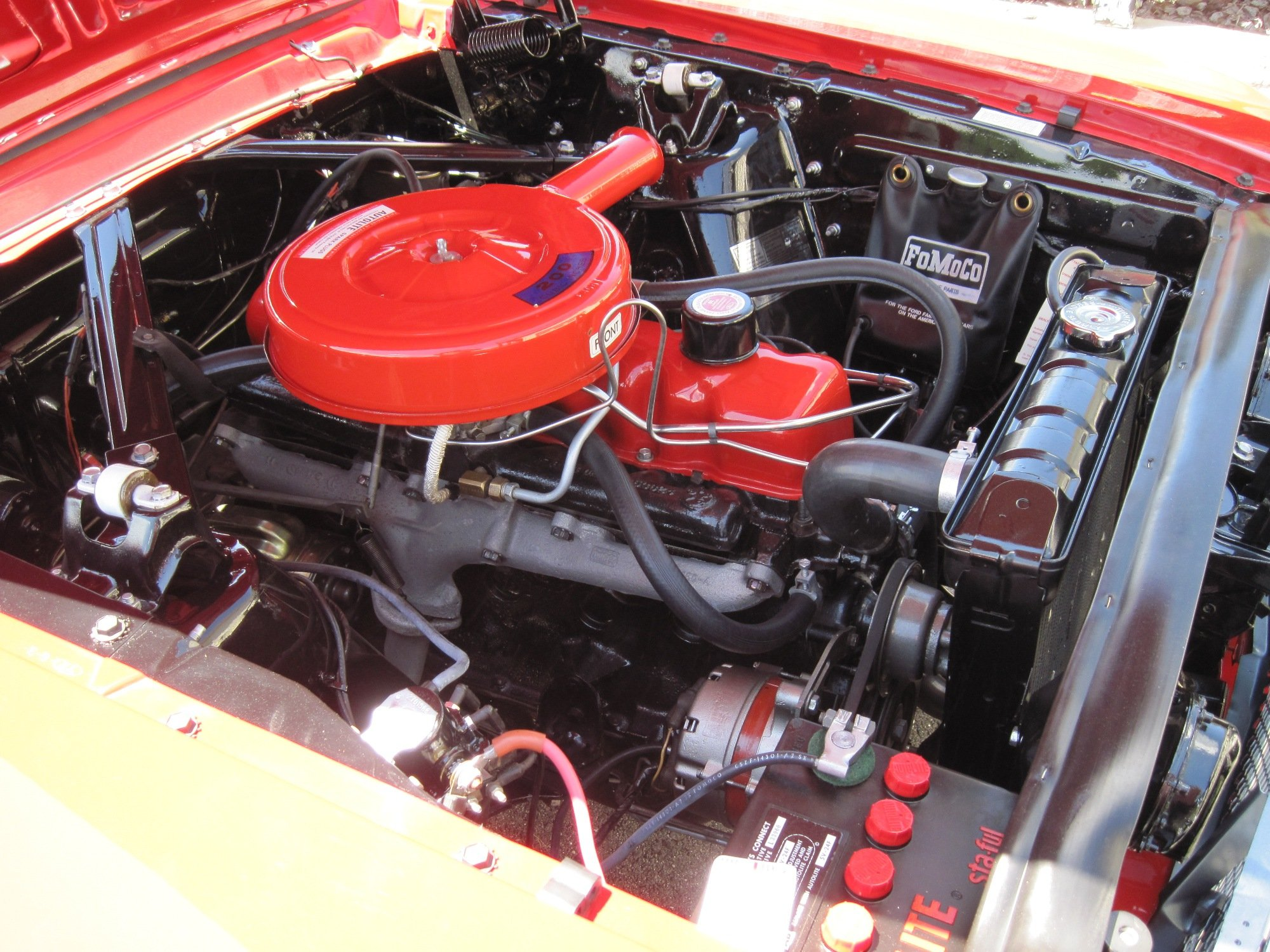 1965 6 cyl. 200 valve cover - Ford Mustang Forum