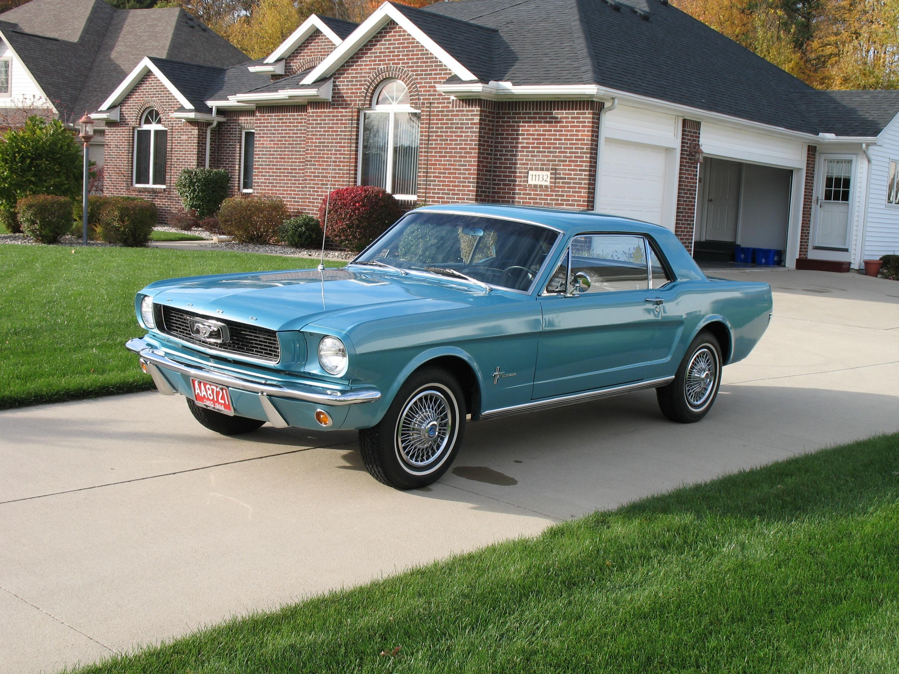 1966 Mustang What Is The Real Tahoe Turquoise Color