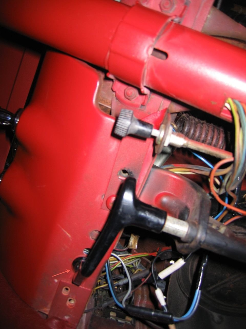 1965 Fog Light Switch Placement
