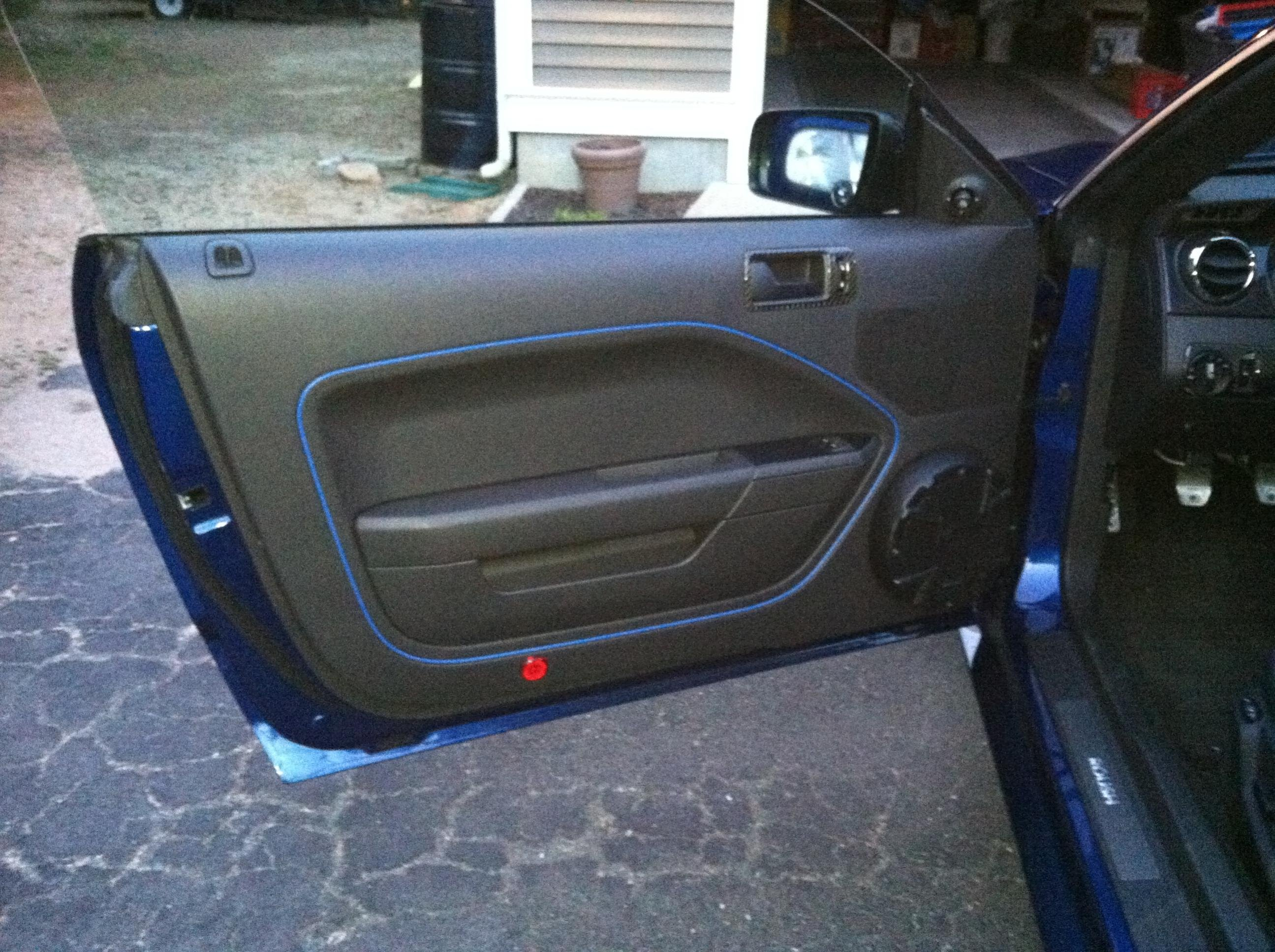 Painted Interior Door Panel Ford Mustang Forum