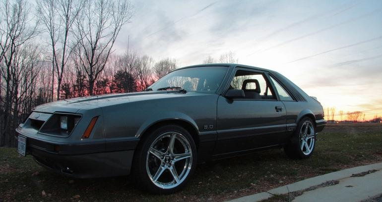 """Camber And Caster >> 1986 w/5 Lug and 18"""" Saleen Rims - Ford Mustang Forum"""