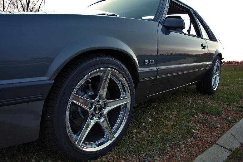 1986 W 5 Lug And 18 Quot Saleen Rims Ford Mustang Forum