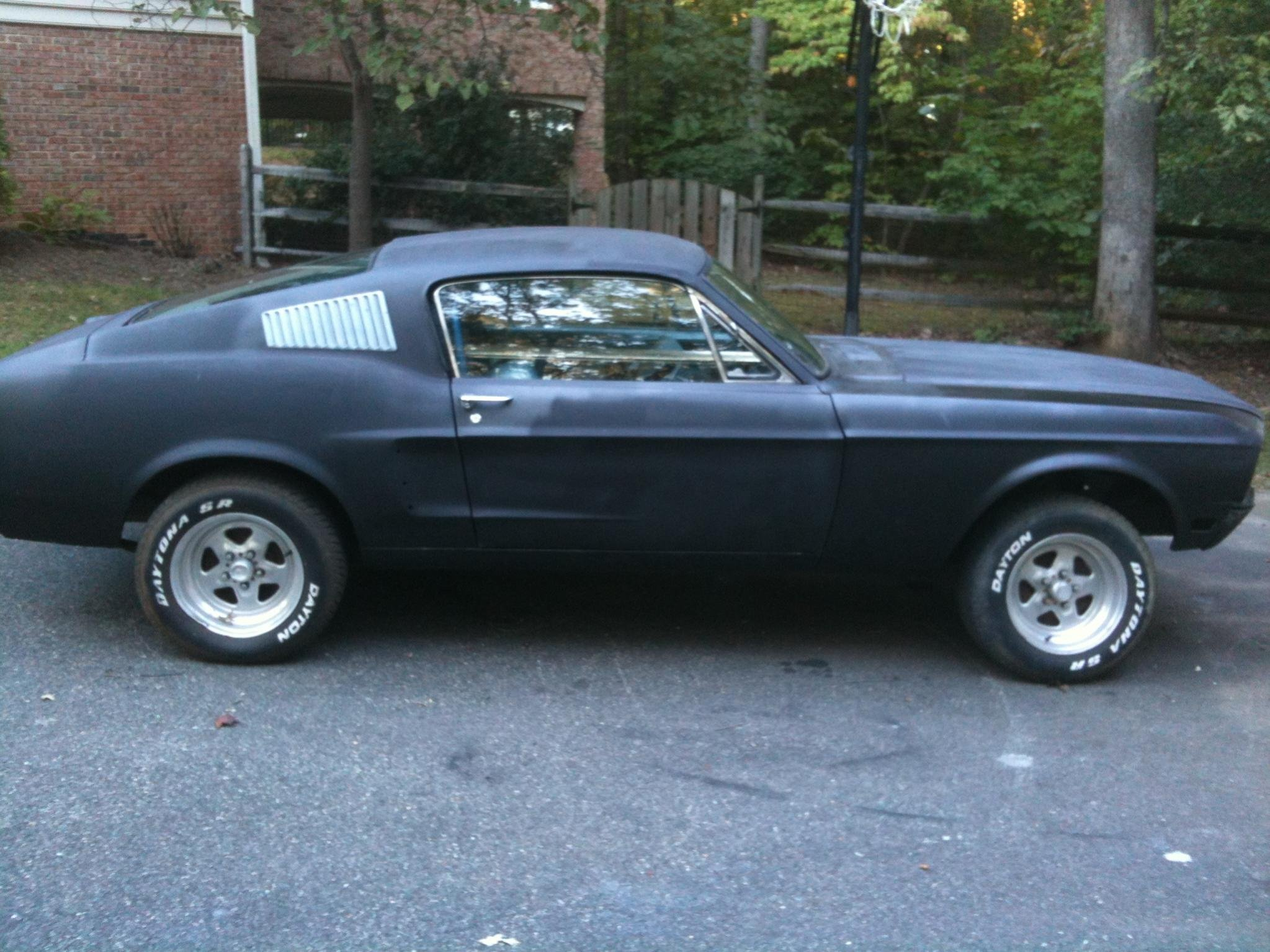 1968 Mustang Fastback Restomod Restoration High School Project ...