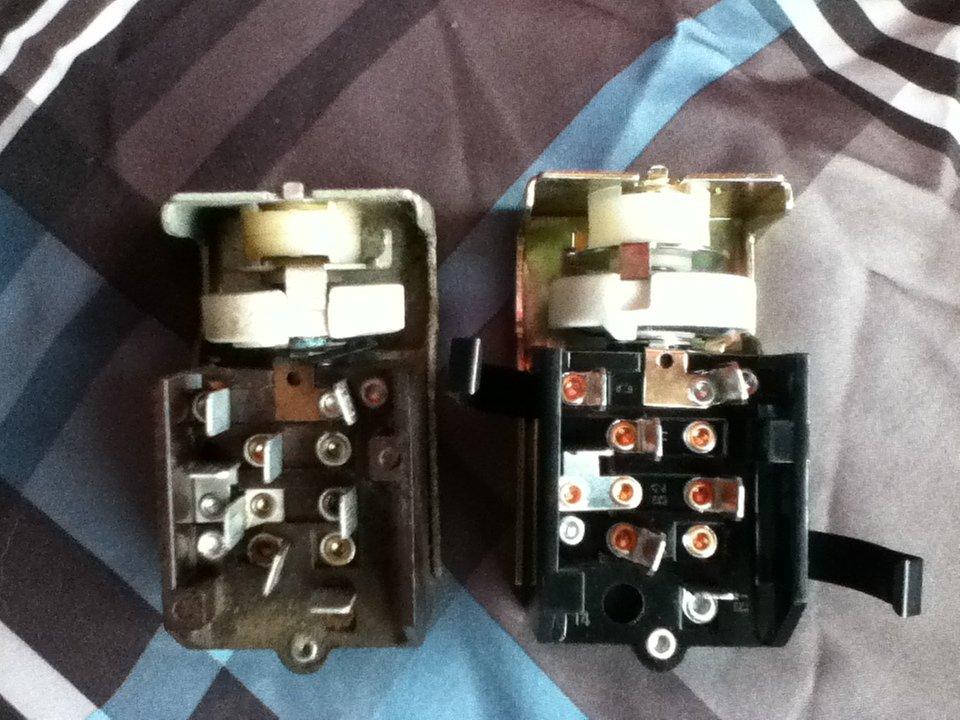 1964 1  2 Headlight Switch
