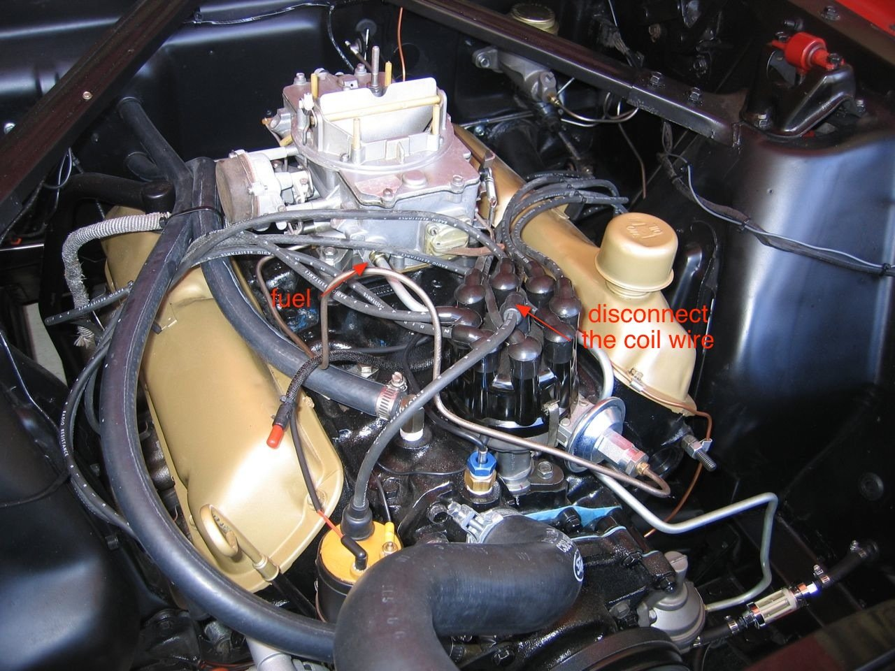 65 Mustang Fuel Pump Leaking Ford Forum 66 Filter Location Click Image For Larger Version Name Img 1091 Views 4364 Size 3166