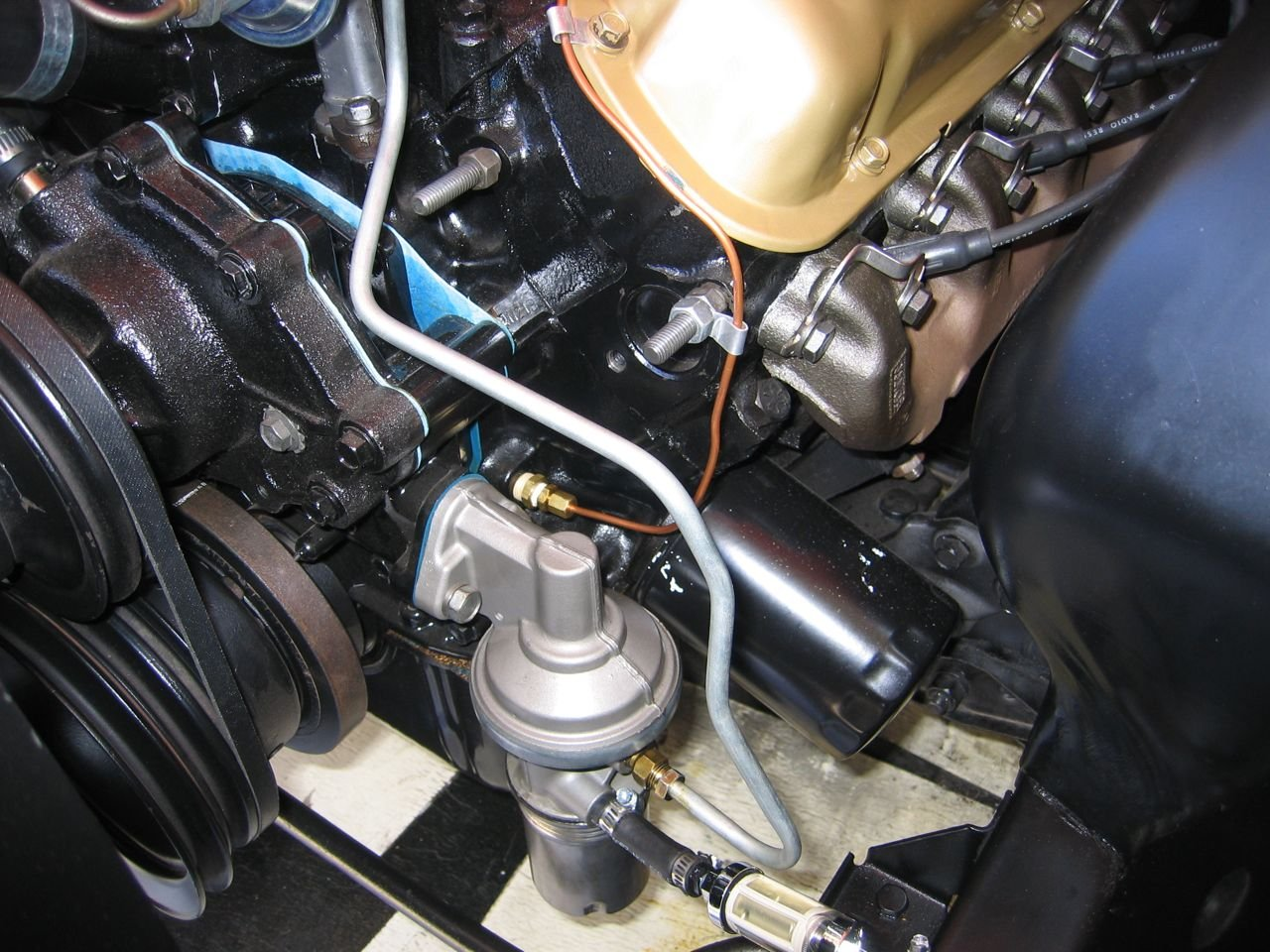 2012 mustang fuel filter location 1965 fuel pump leaking - ford mustang forum 65 mustang fuel filter location #10