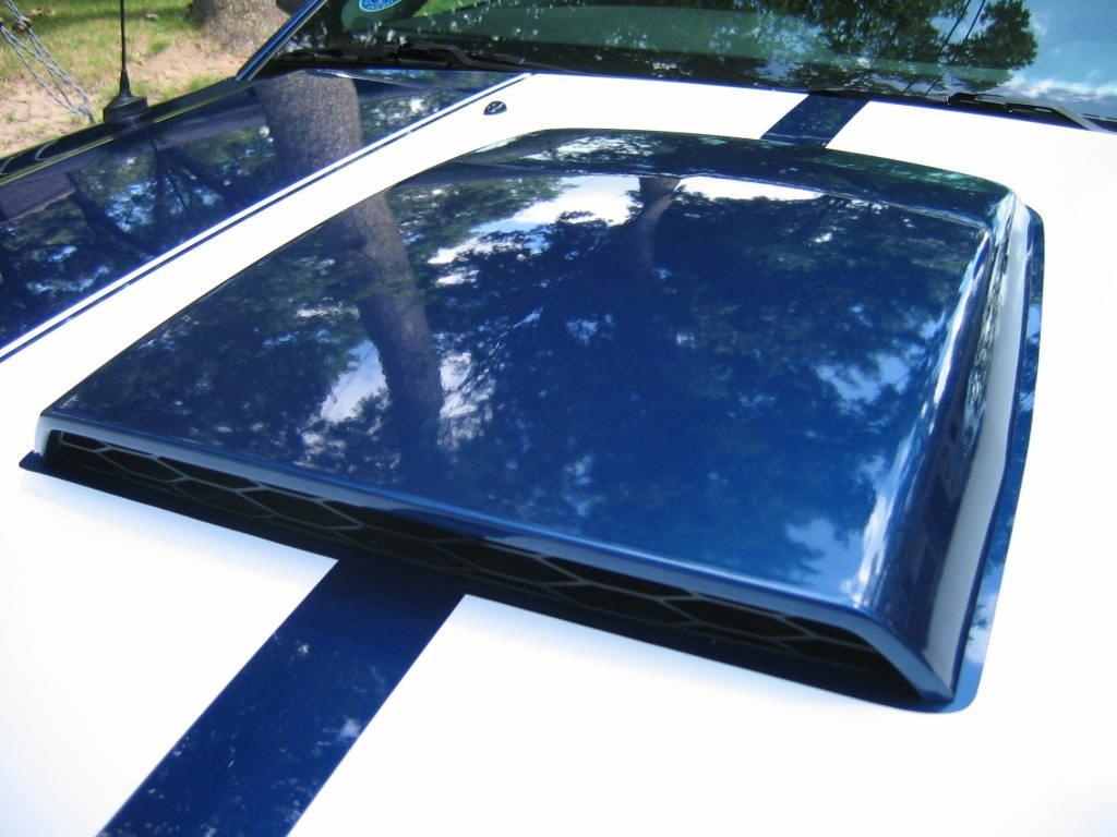 Hood Scoops On Vinyl Stripes Ford Mustang Forum