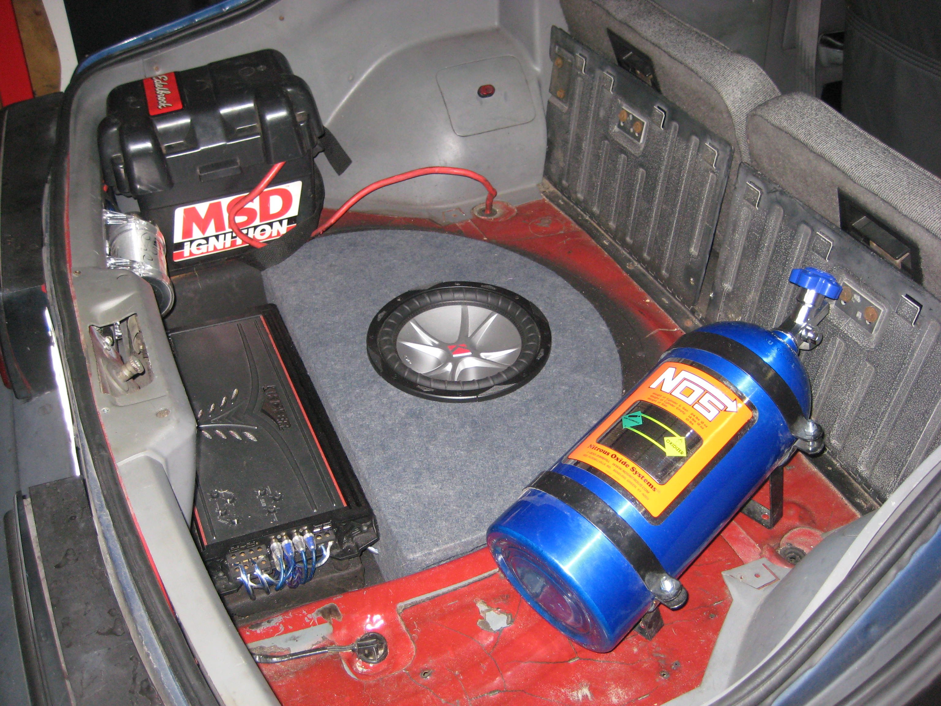Pics of your amp mounted in foxbody - Ford Mustang Forum