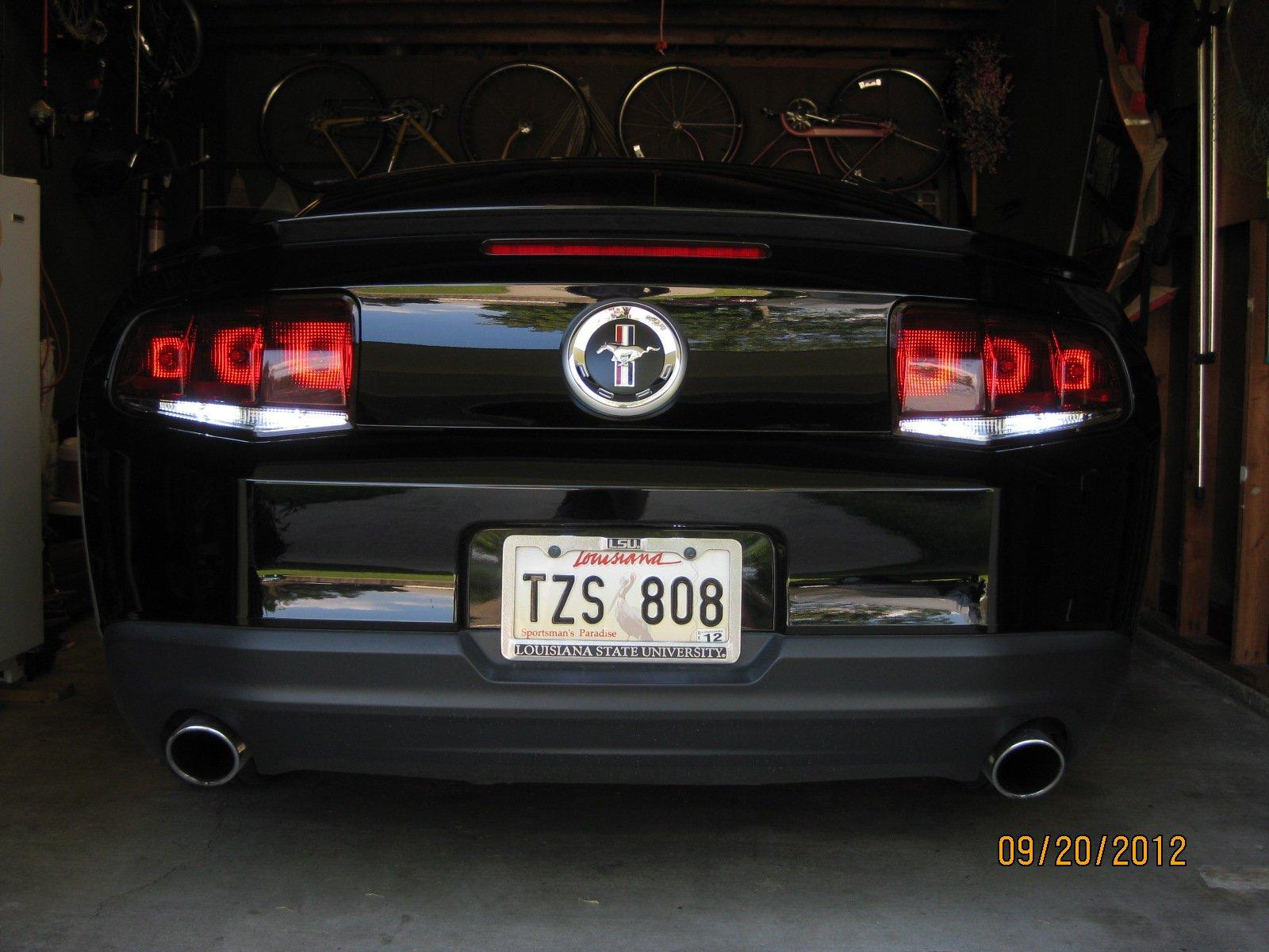 Getting Some Raxiom Aero Smoked Lights Ford Mustang Forum