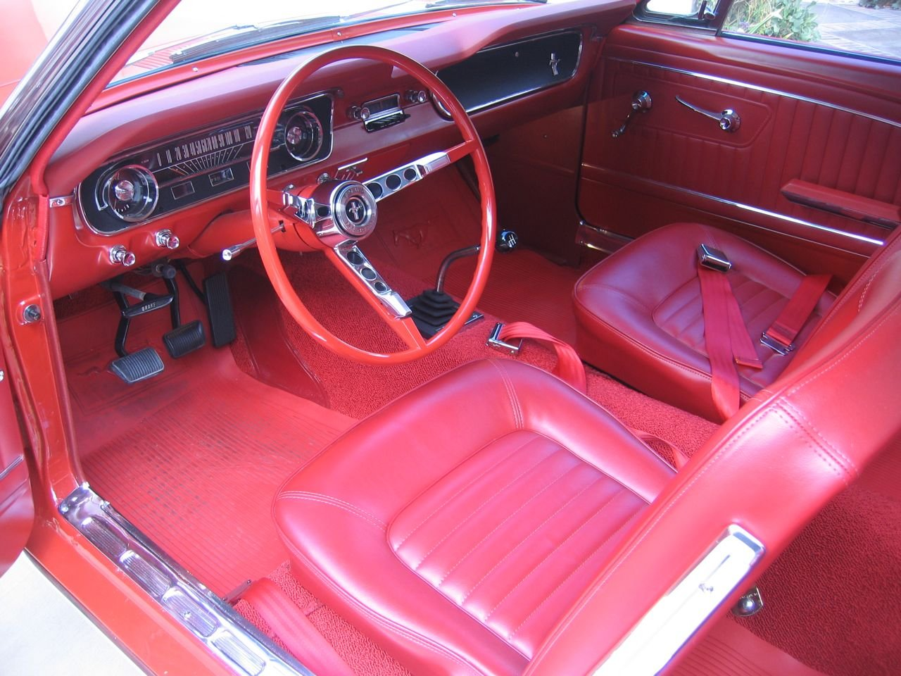 66 Mustang Fastback >> Correct 1966 Mustang Interior - Ford Mustang Forum