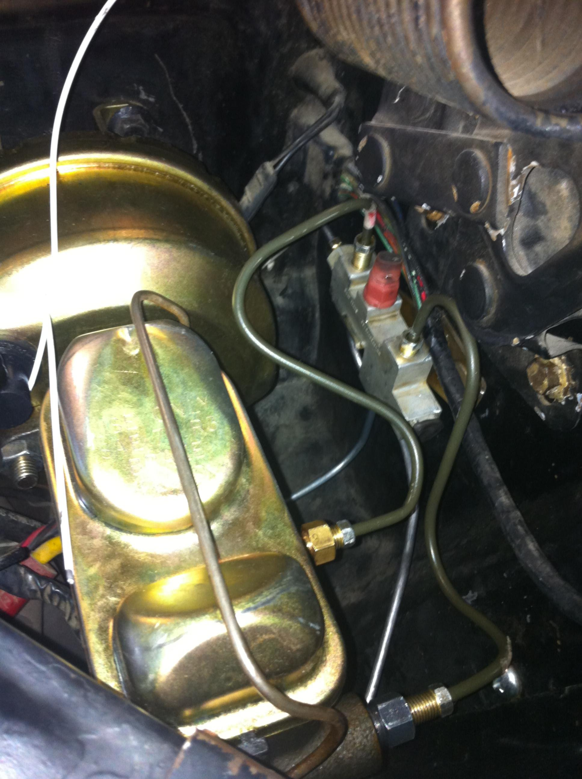 1966 mustang automatic to manual swap