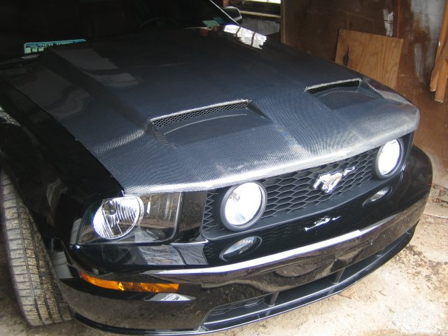 Carbon Fiber Hoods Decent Prices Page 3 Ford Mustang