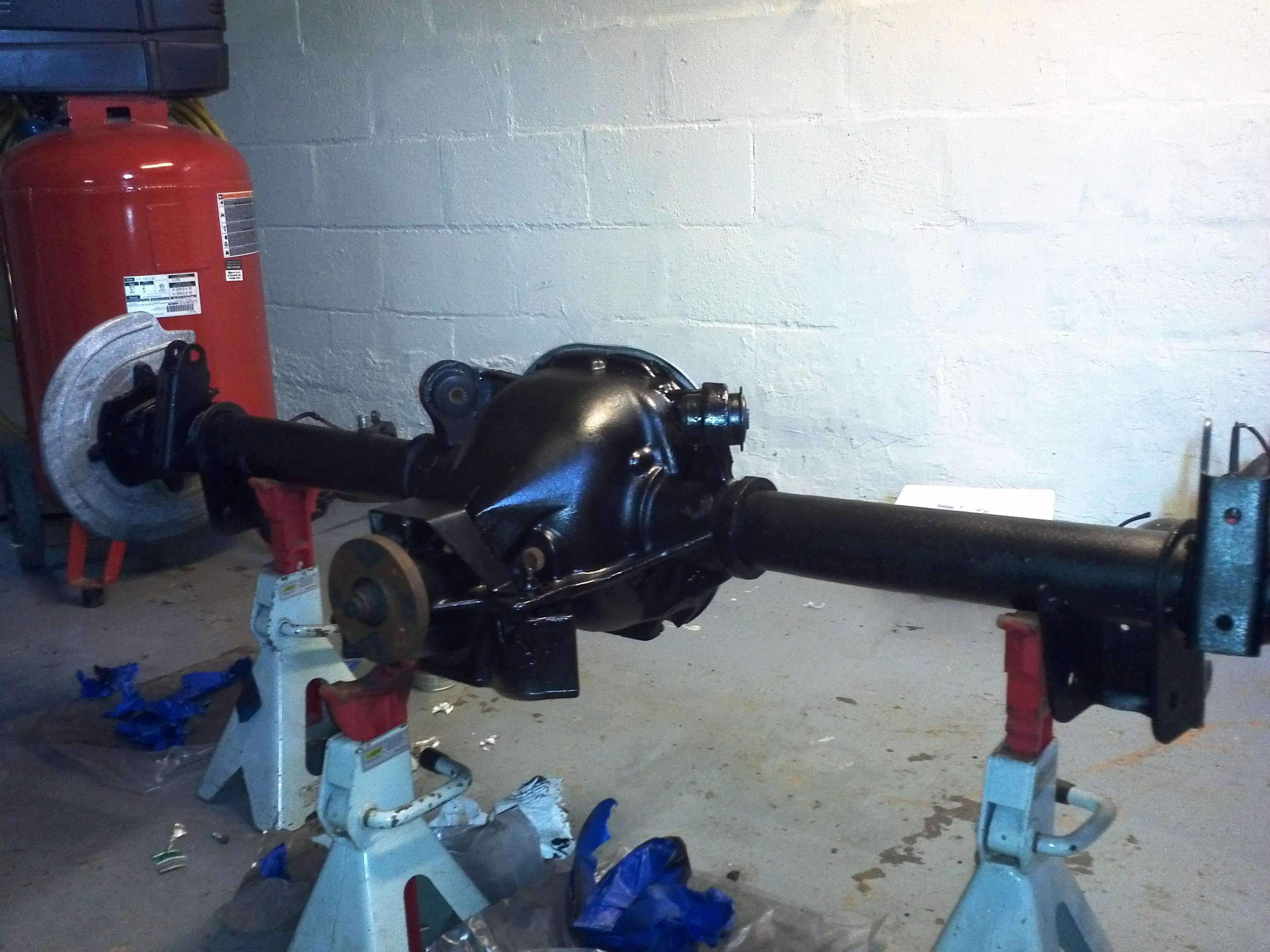 7 5 to 8 8 rear end swap actually done img_20130502_153954 jpg