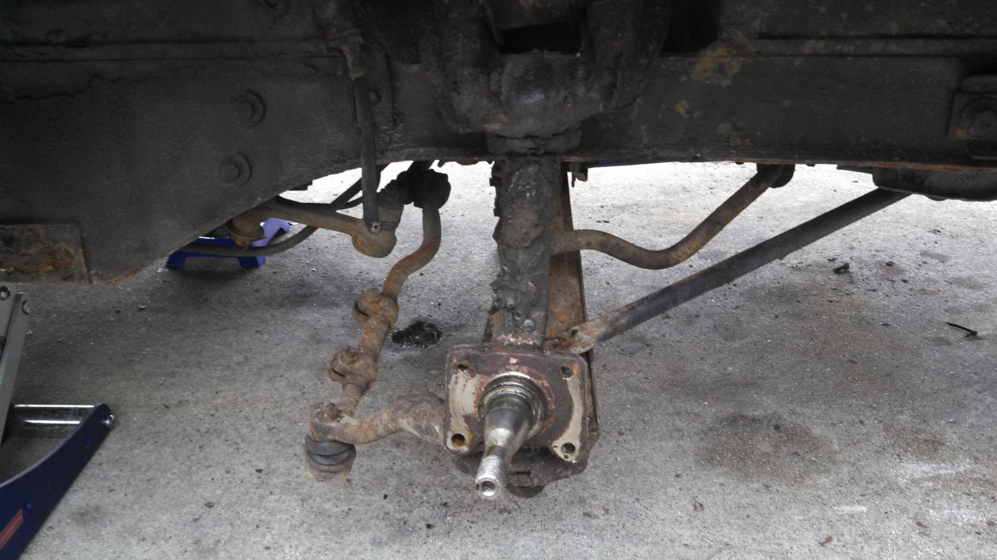 D Mustang Control Arms Rust Removal Img