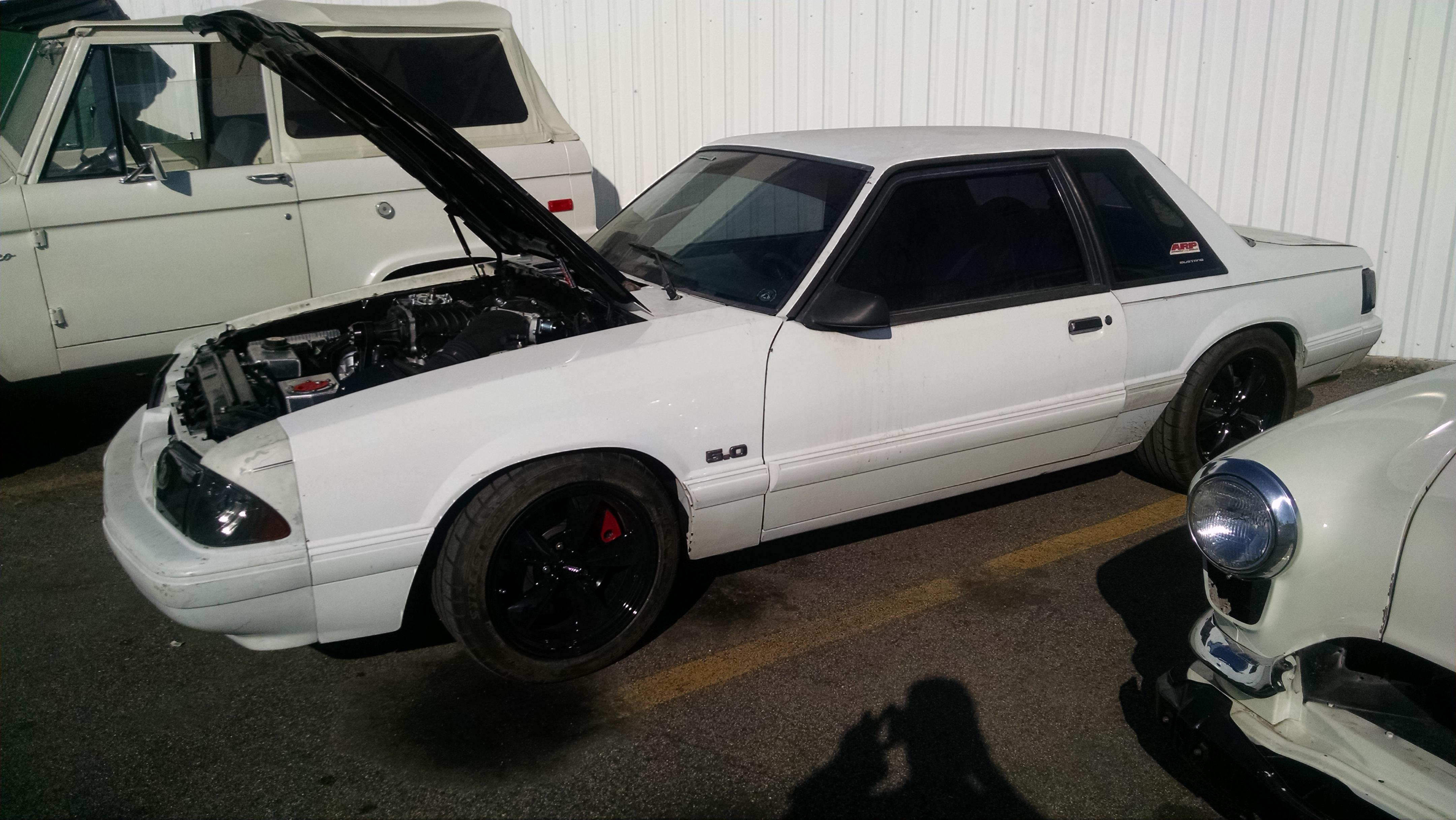 Replayman S Fox Body Coyote Swap Ford Mustang Forum
